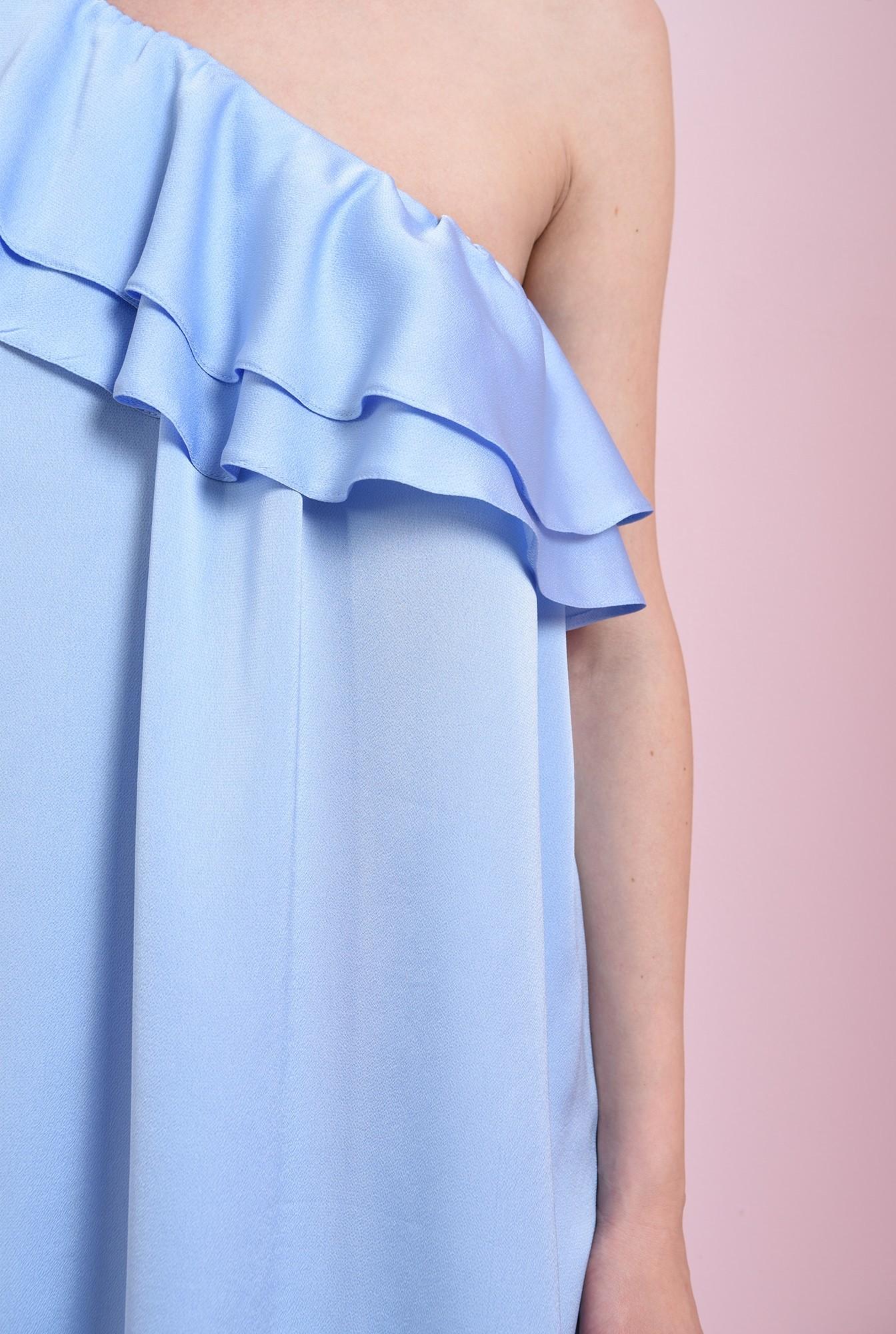 2 - rochie bleu, cu volane, Poema