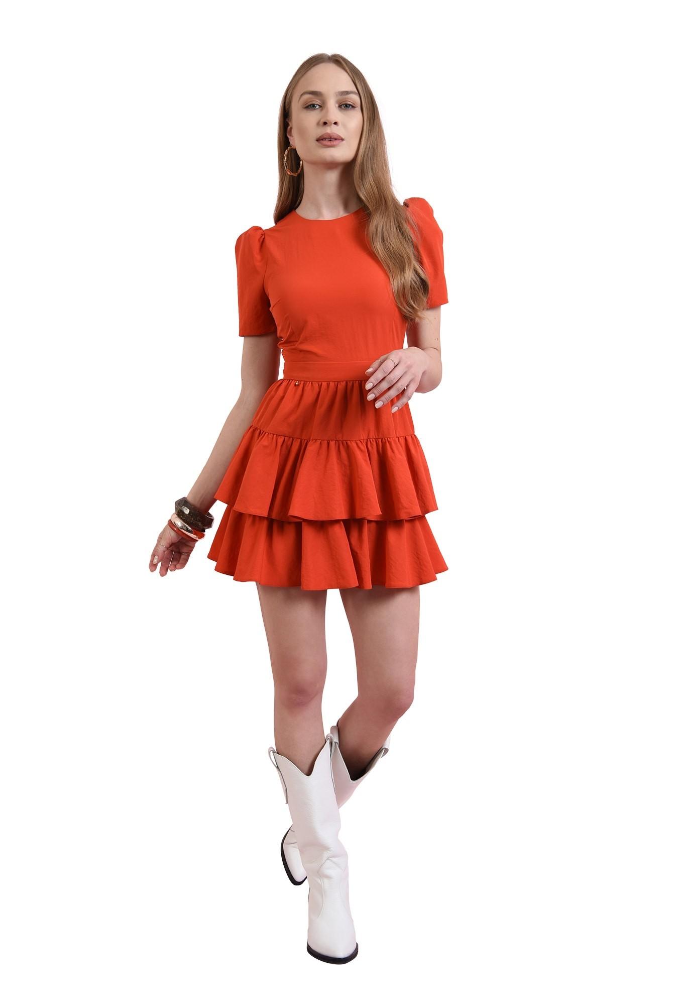 3 - rochie casual, rosie, Poema