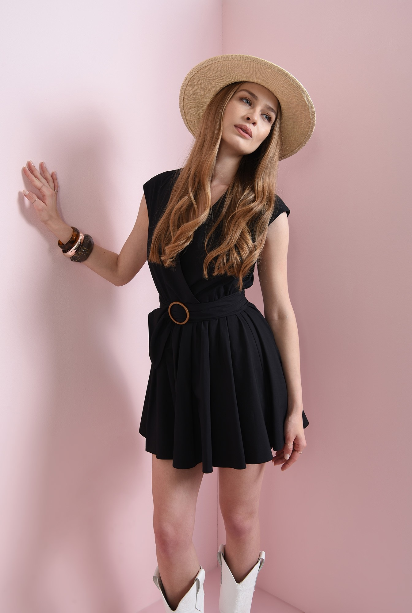 1 - rochie casual, din bumbac, Poema