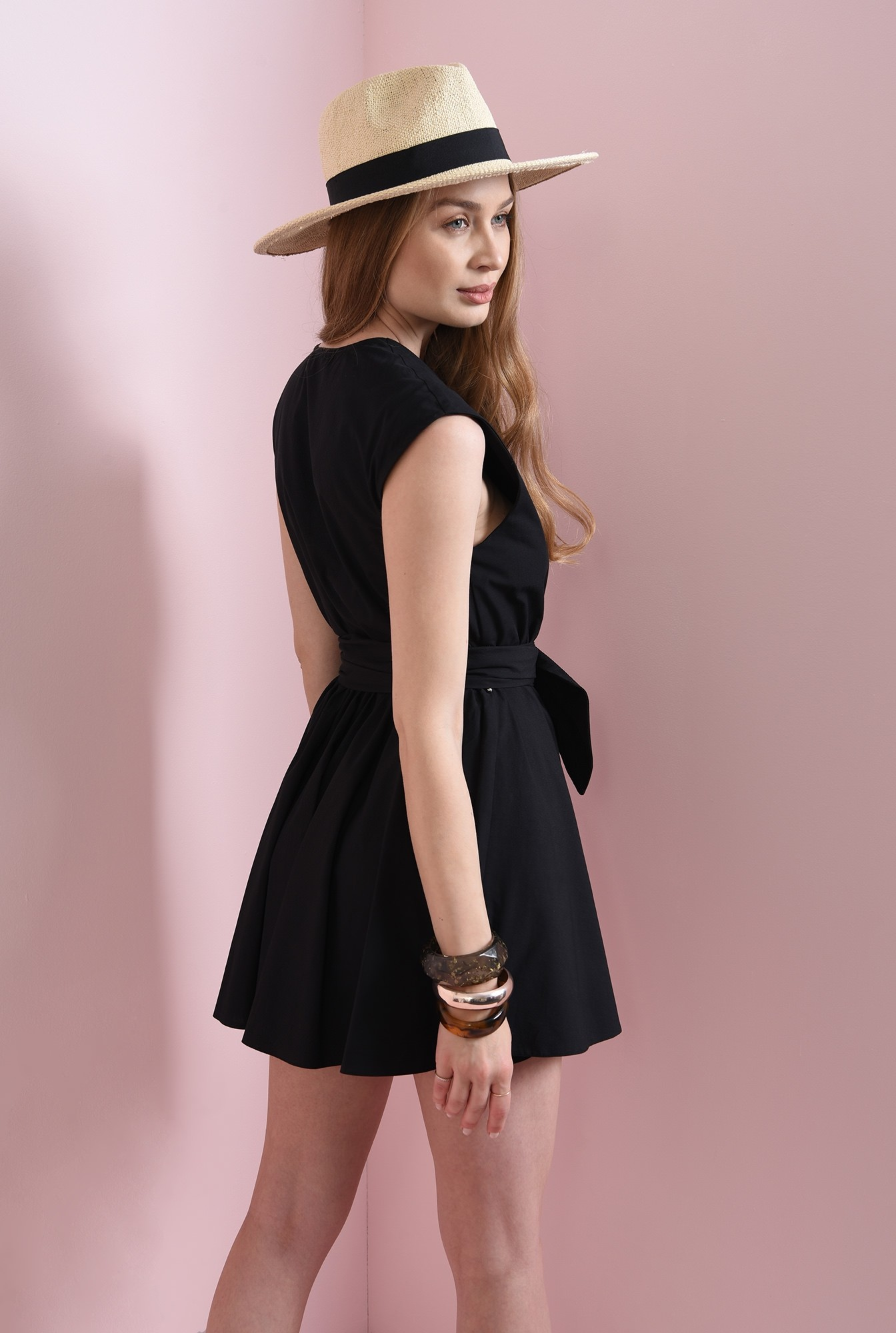 2 - rochie casual, din bumbac, Poema