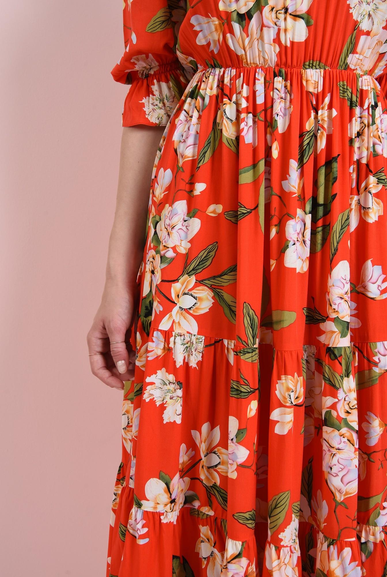 2 - rochie cu elastic la talie, Poema