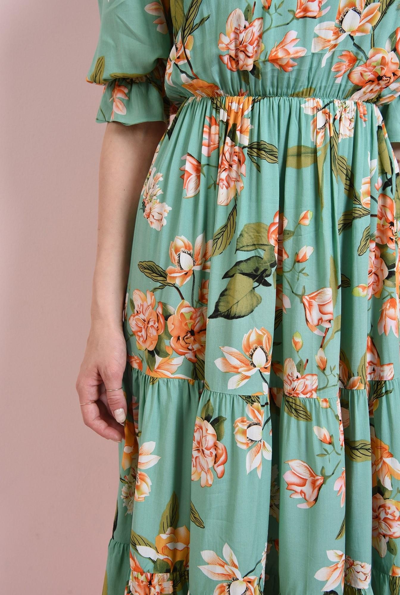 2 - rochie vernil, cu print. Poema
