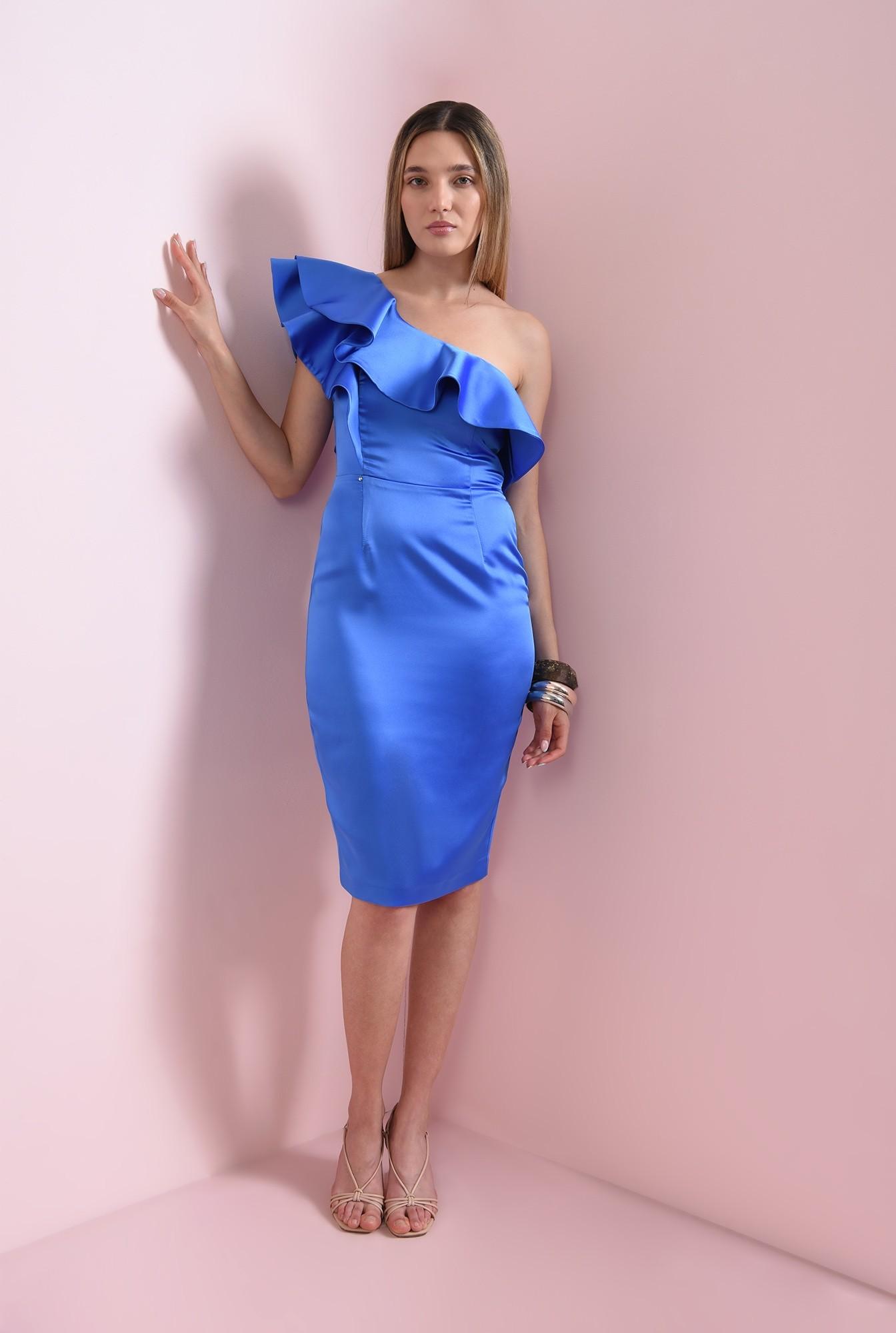 1 - rochie conica, midi, eleganta