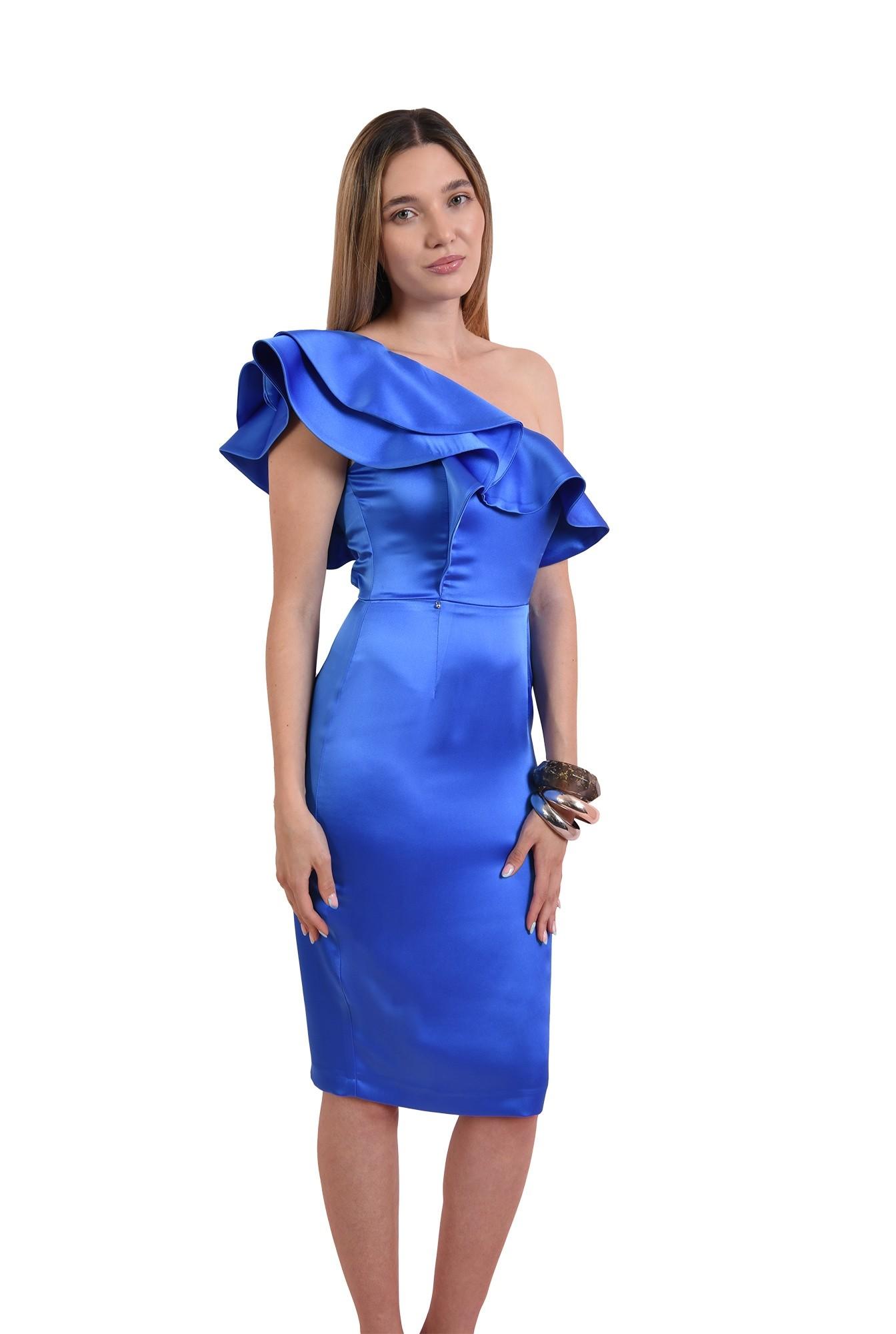 3 - rochie conica, midi, eleganta