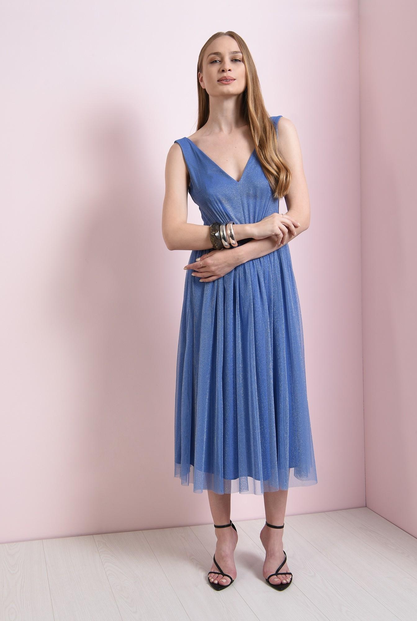 0 - rochie eleganta, bleu, Poema