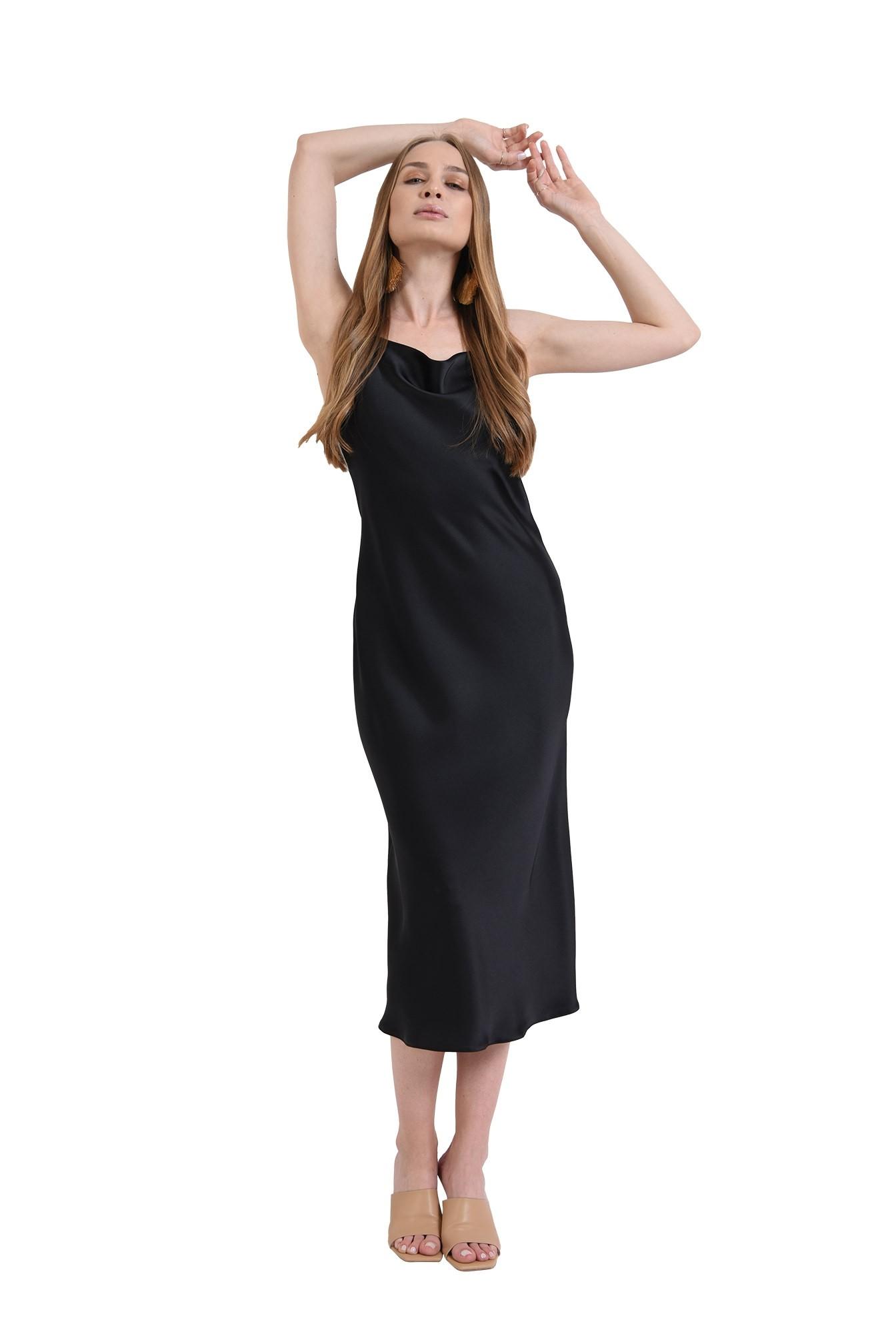 3 - rochie neagra, tip furou, Poema