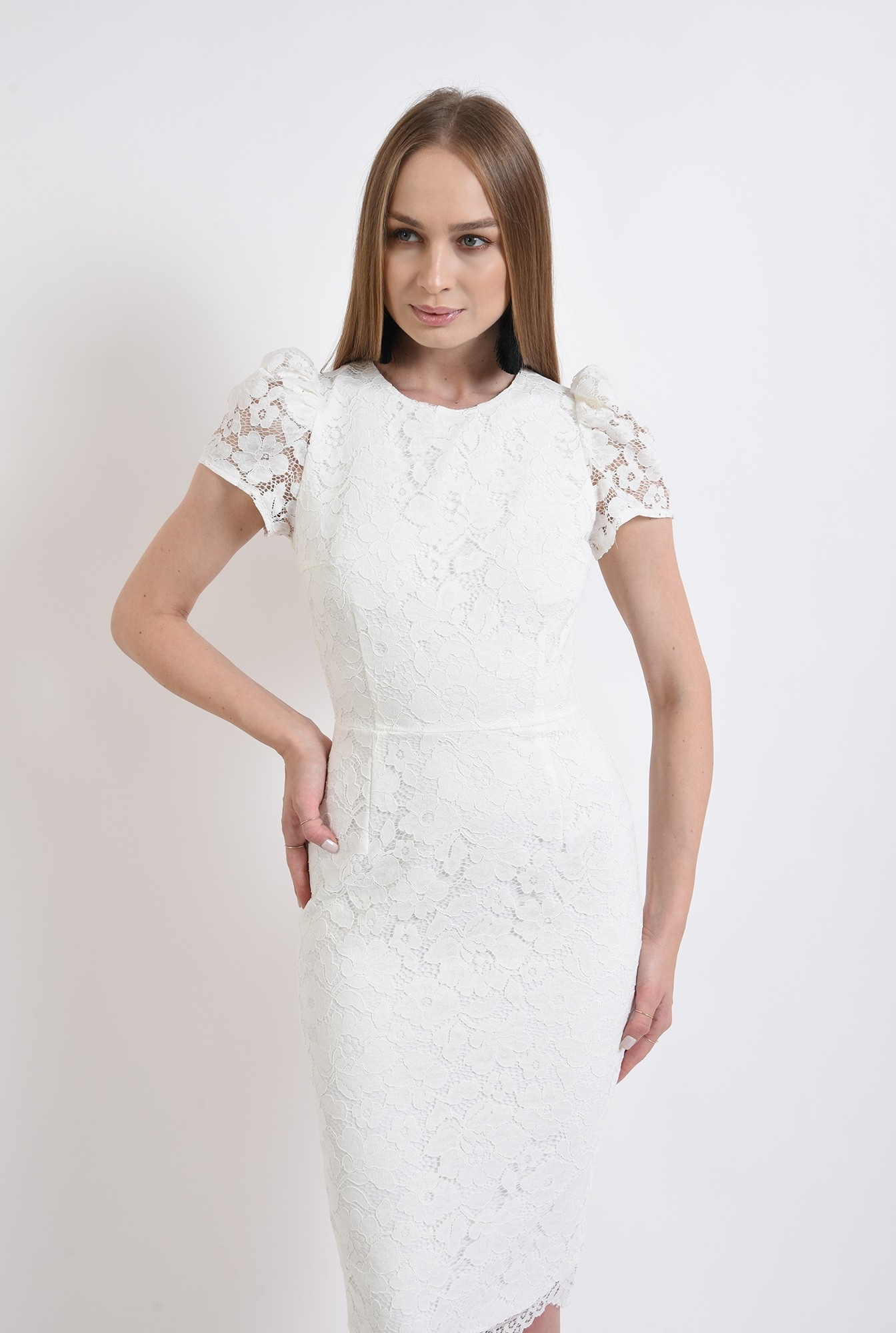 1 - rochie eleganta, din dantela, Poema
