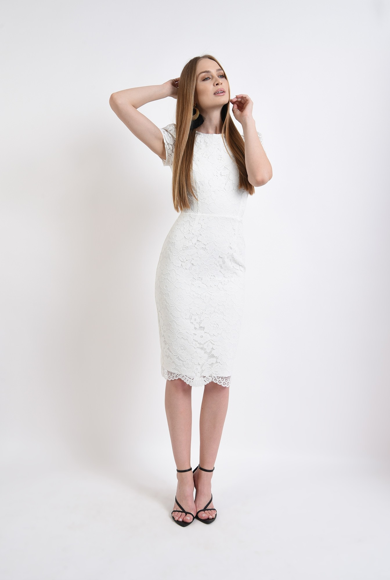 0 - rochie eleganta, din dantela, Poema