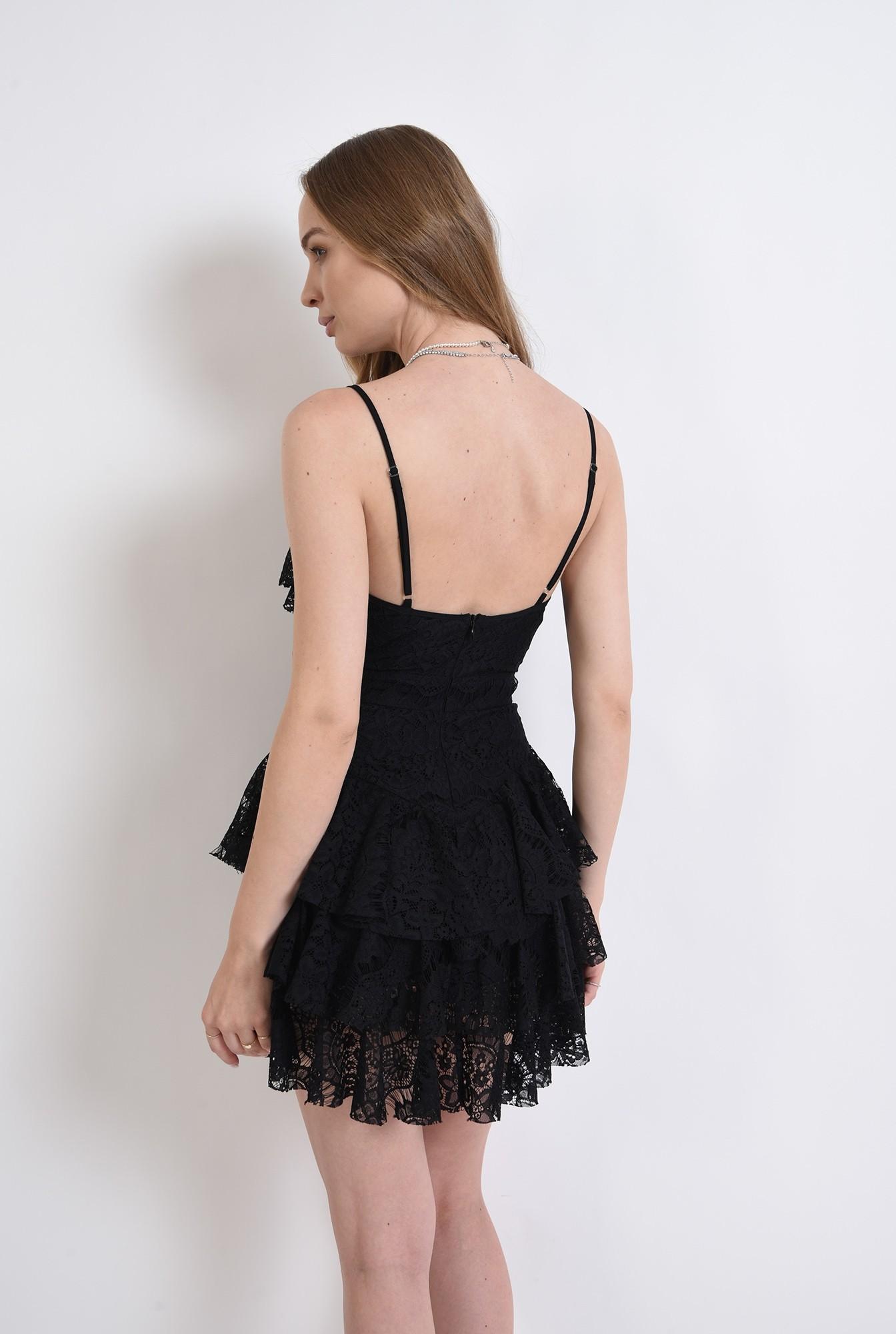 1 - rochie eleganta, cu decolteu adanc, Poema