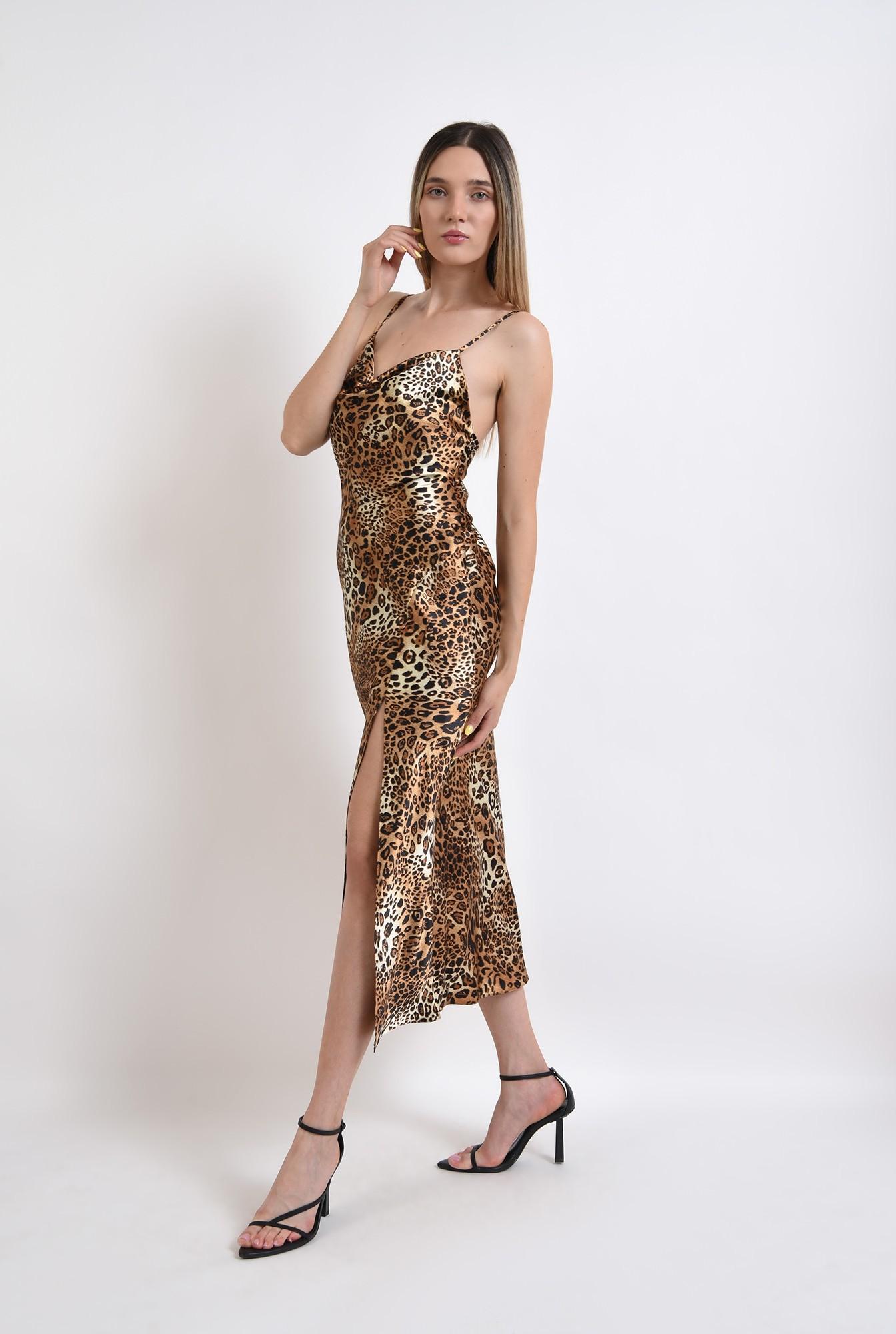 1 - rochie eleganta, cu imprimeu, Poema
