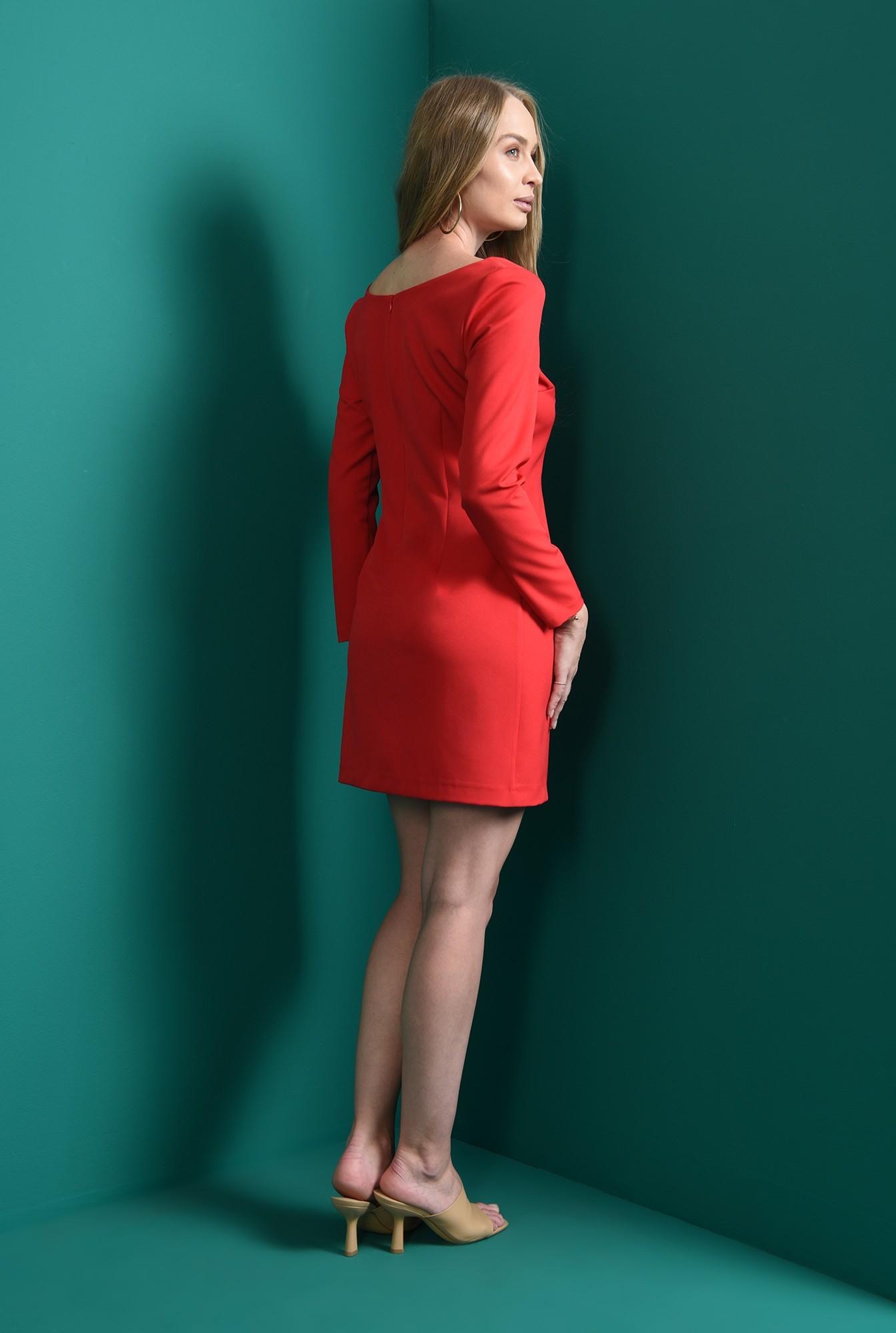 2 - rochie rosie, cu decolteu inima, Poema