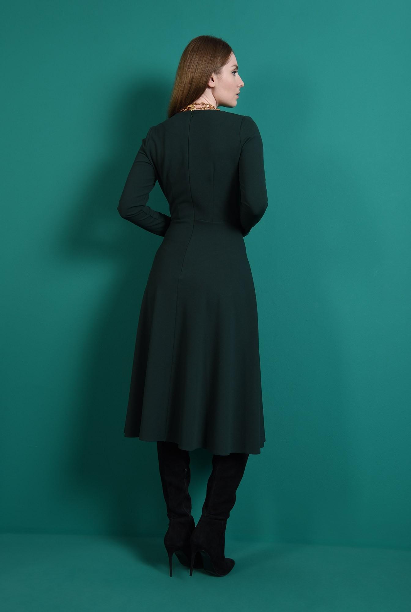 2 - rochie verde, casual, Poema