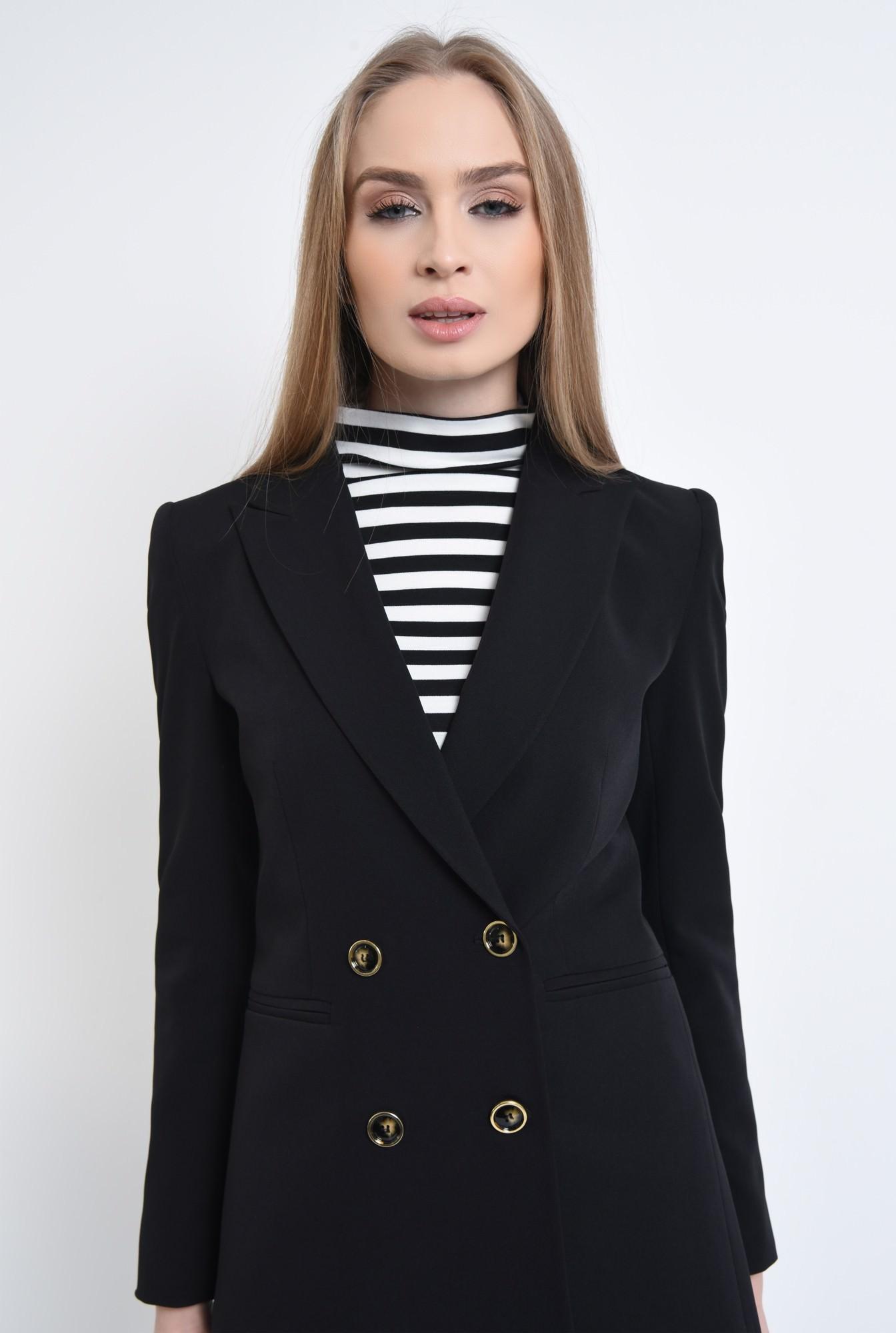 2 - Sacou casual, negru