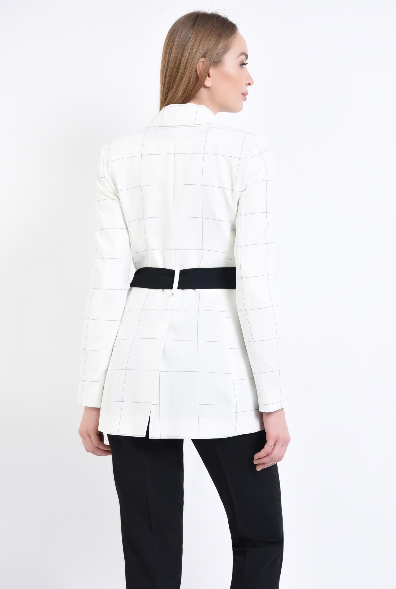 1 - Sacou elegant, alb