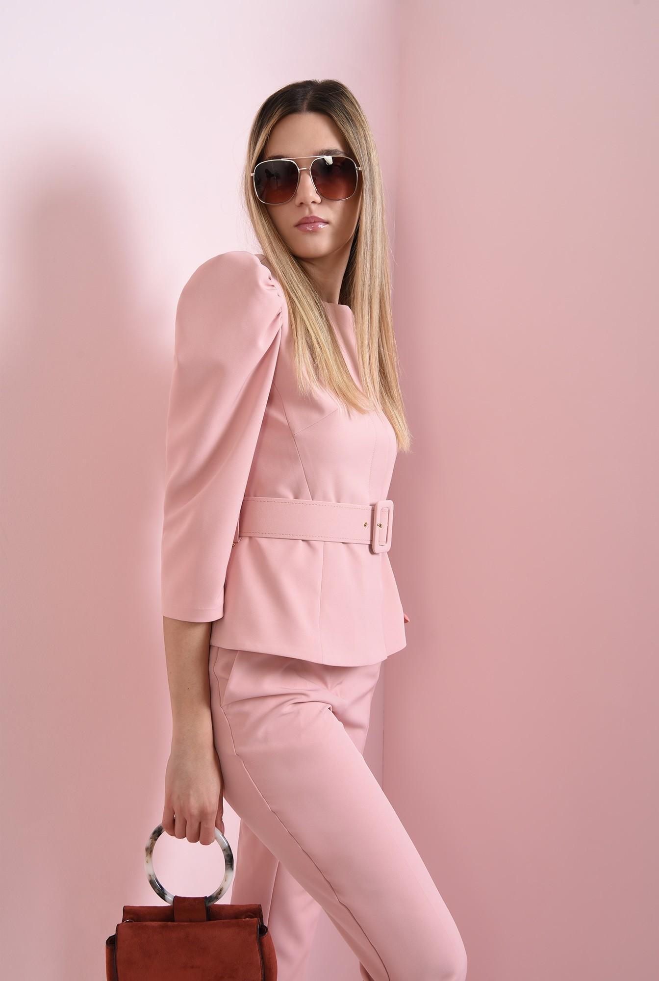 1 - sacou roz, cu peplum, Poema