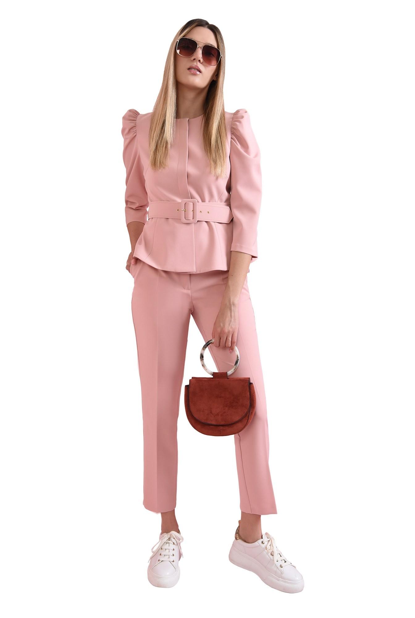 3 - sacou roz, cu peplum, Poema