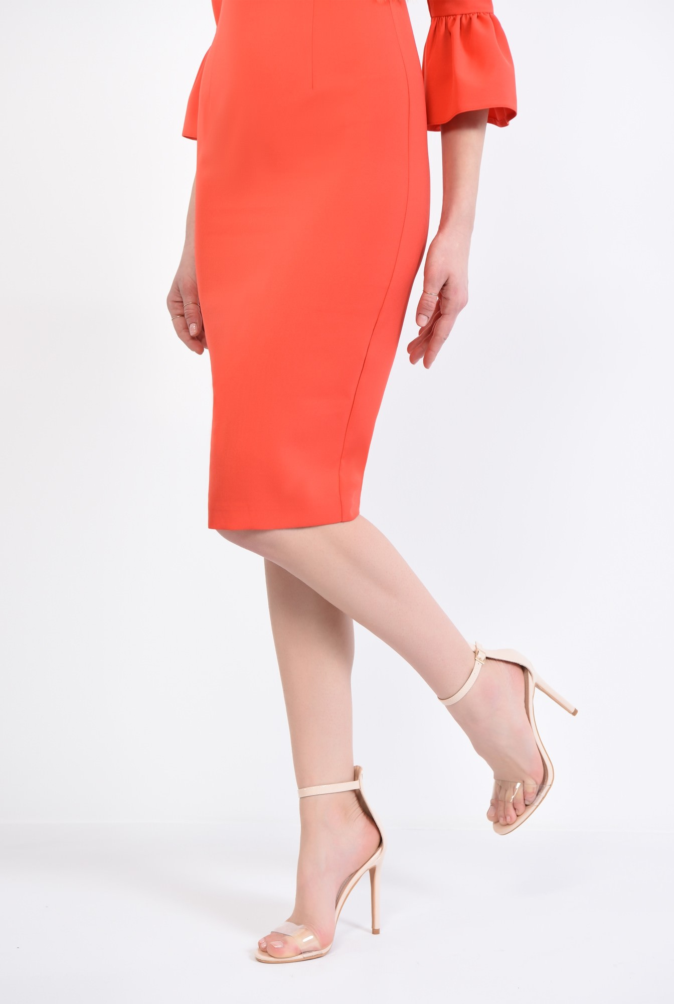 1 - sandale elegante, nude, lac, stiletto