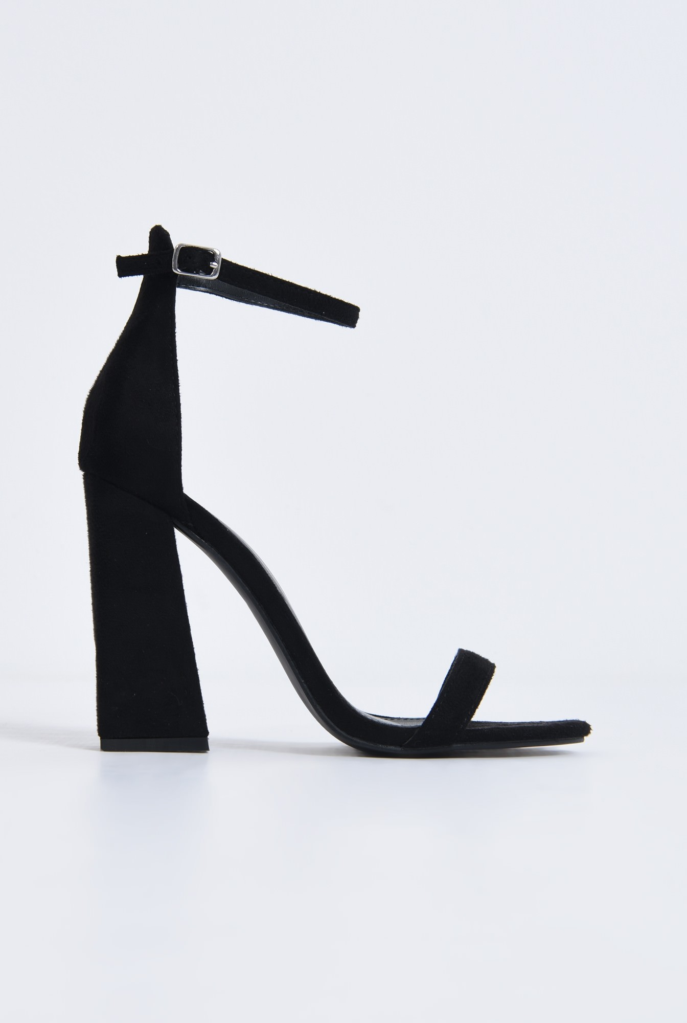 0 - sandale toc inalt, piele ecologica