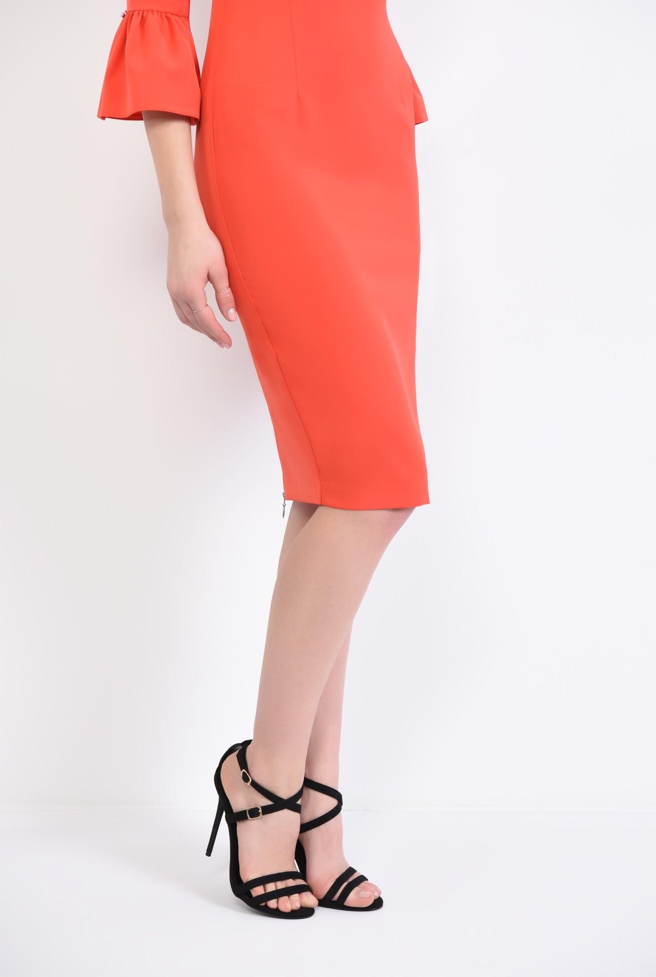 1 - sandale elegante, negru, stiletto, catifea