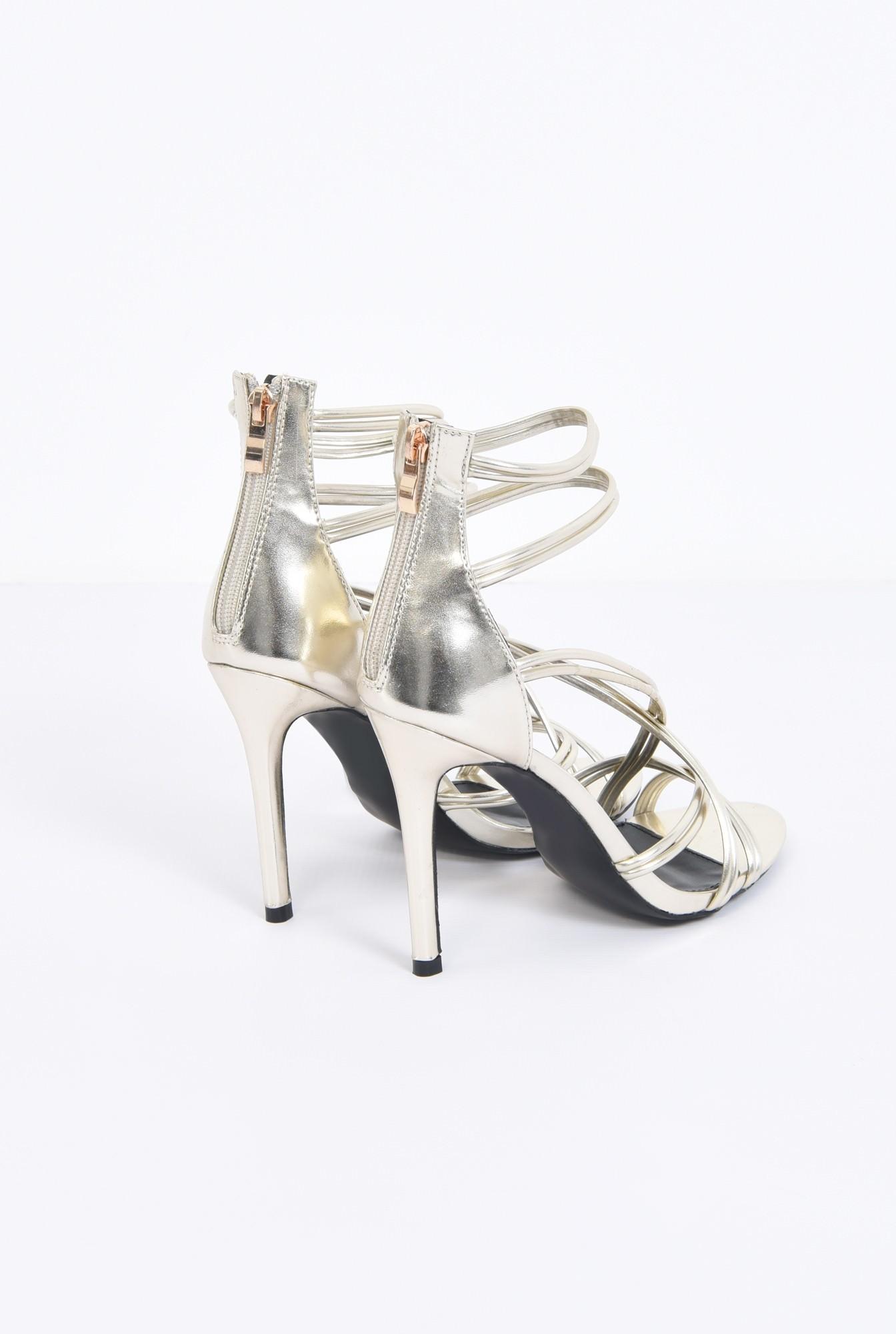2 - sandale de ocazie, toc inalt, barete subtiri