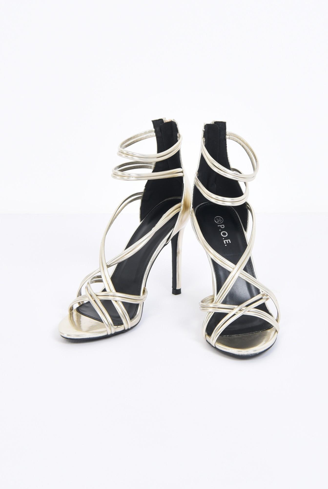3 - sandale de ocazie, toc inalt, barete subtiri