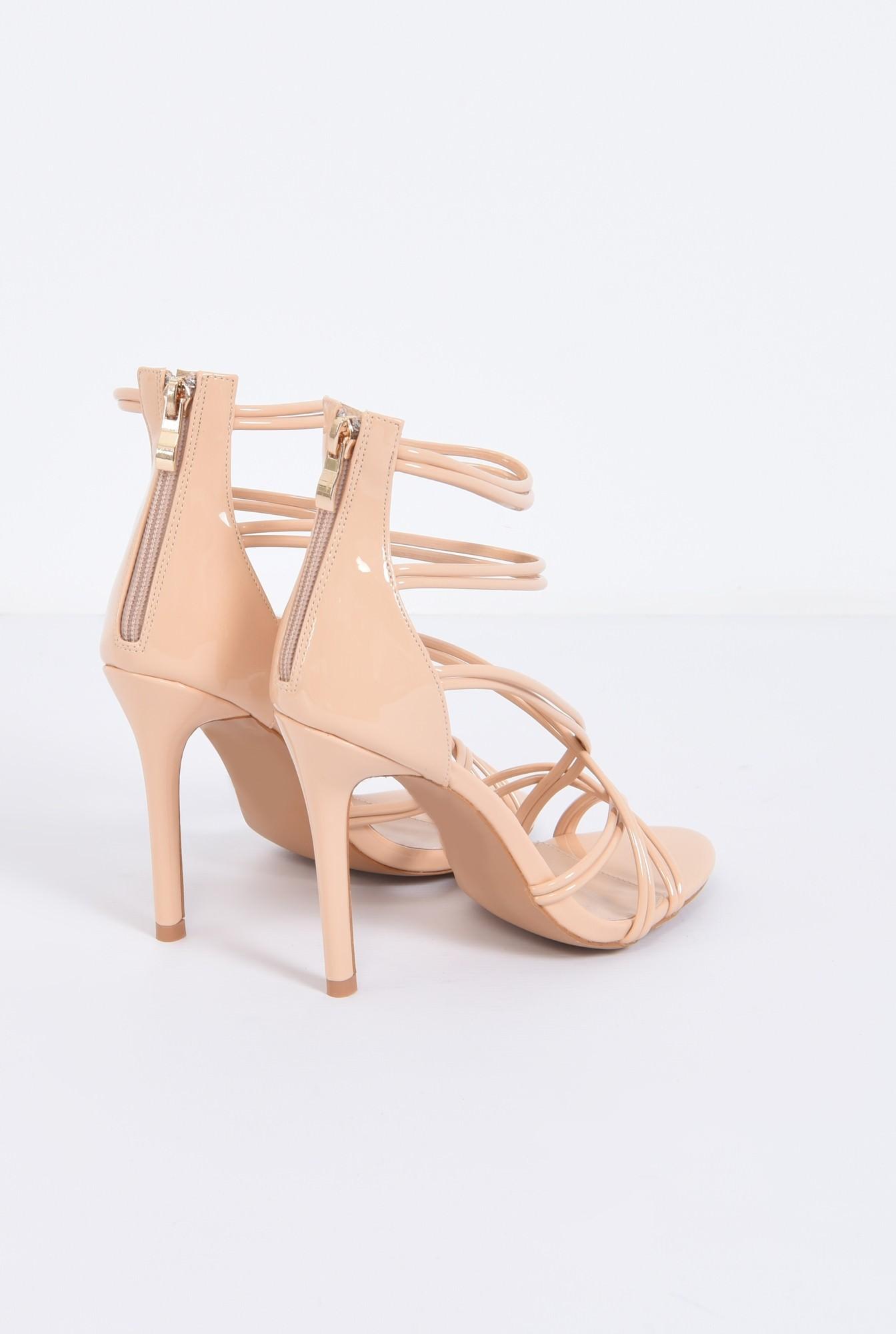 2 - sandale de ocazie, toc subtire, barete incrucisate