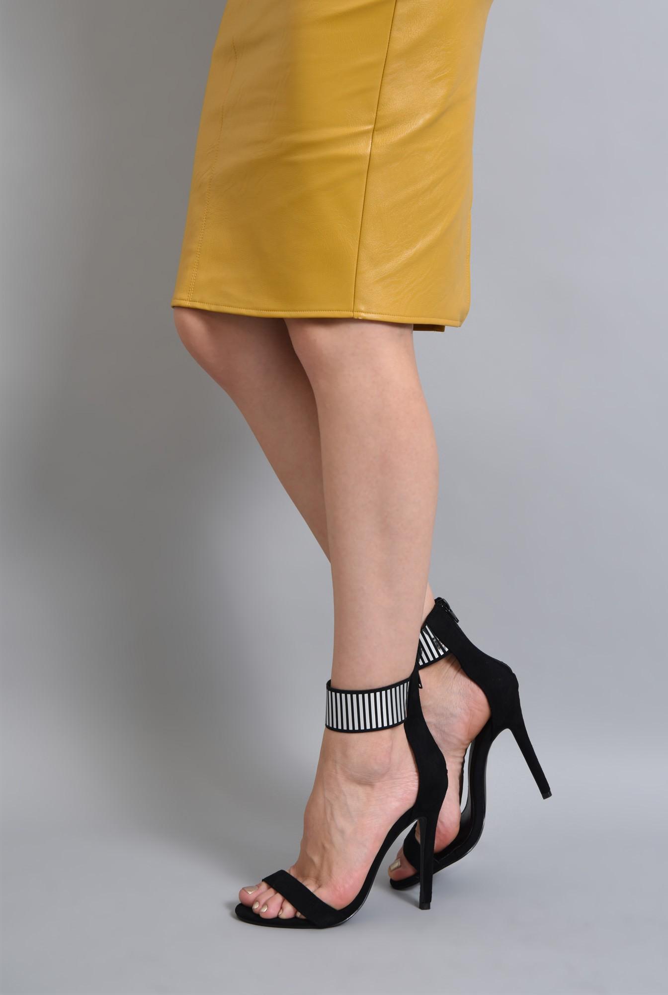4 - sandale de ocazie, barete, toc subtire