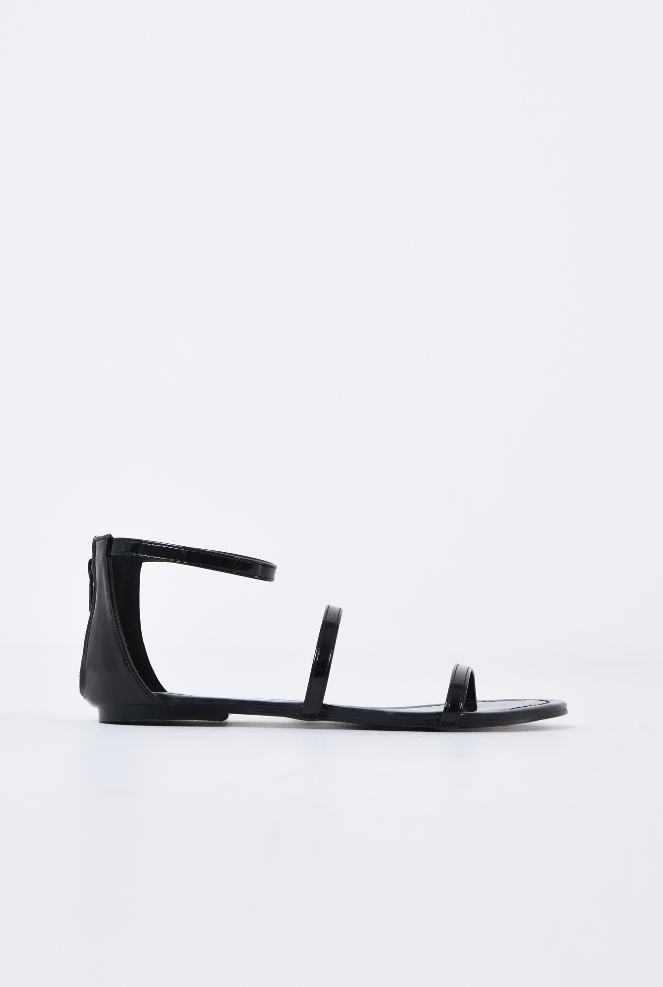 0 - sandale casual, cu talpa joasa, barete subtiri