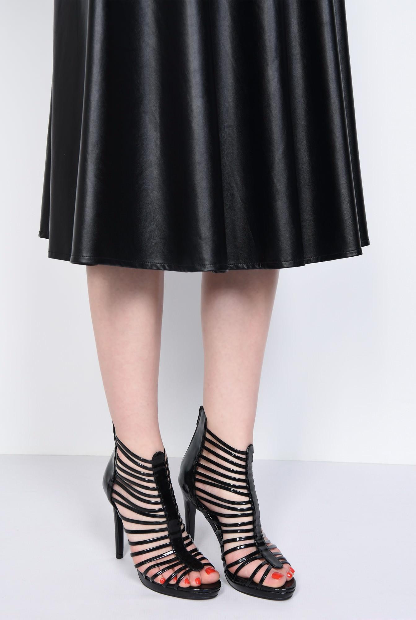 4 - sandale dama, piele ecologica, barete