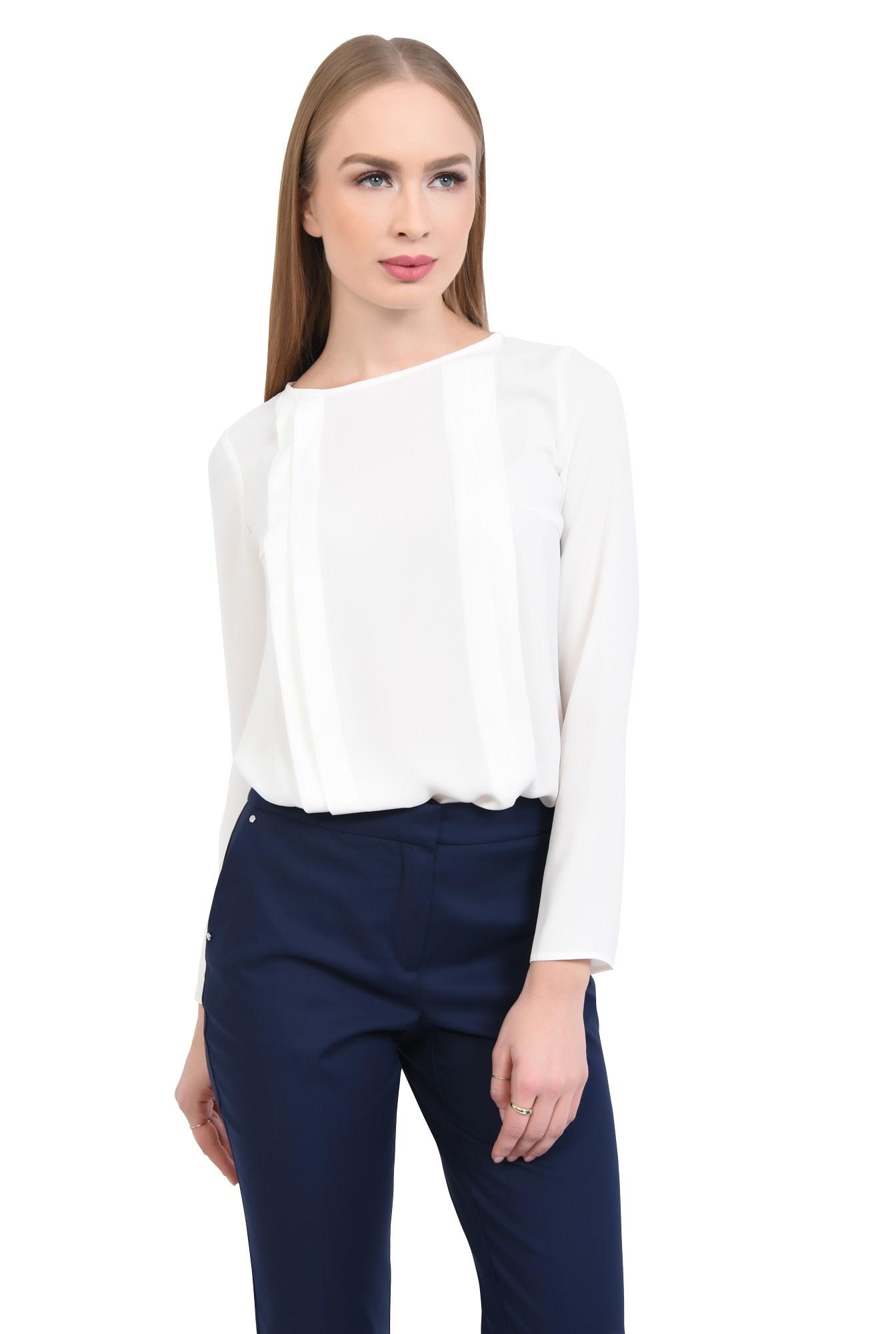 Bluza eleganta, pliseuri