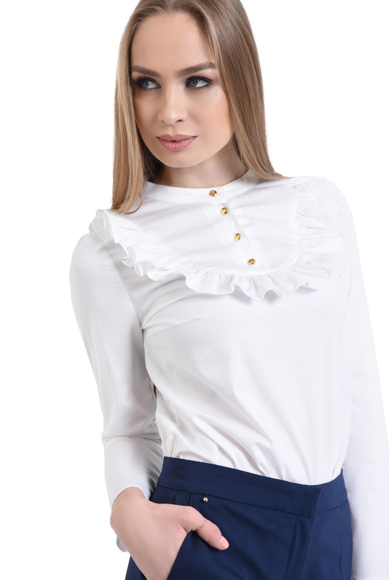 Bluza eleganta, nasturi aurii