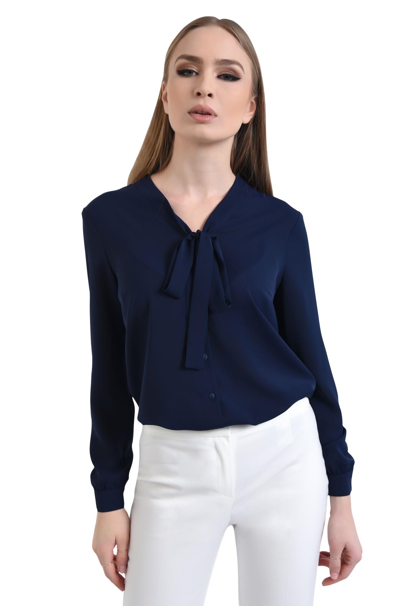 Bluza eleganta, cu funda