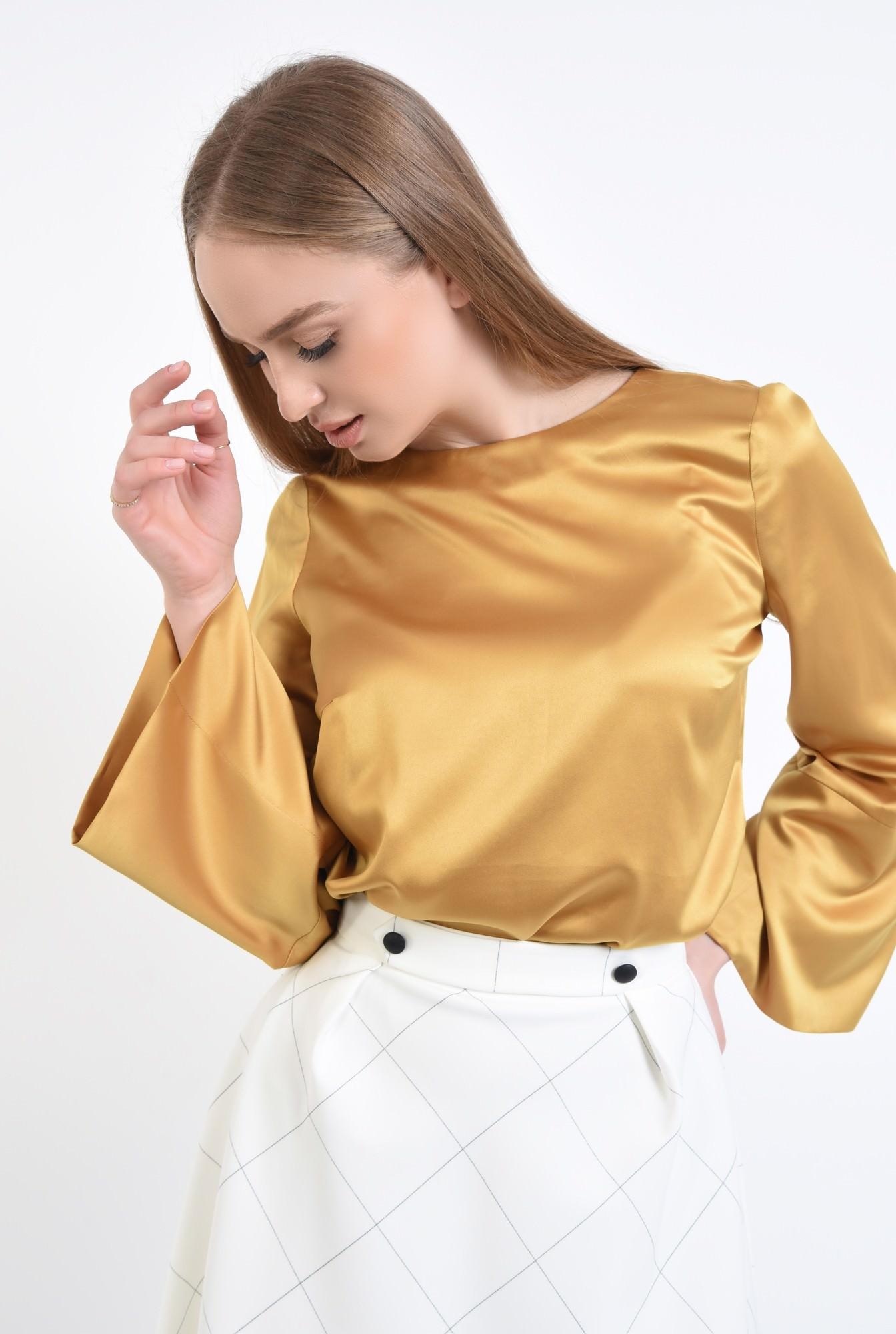 Bluza eleganta din satin
