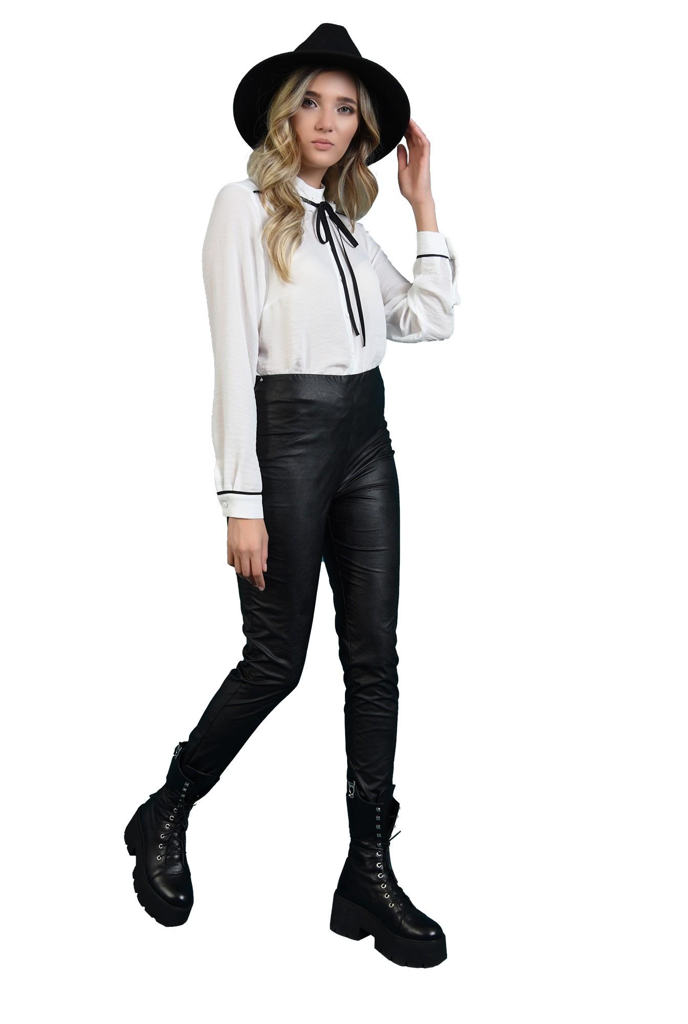 bluza lejera, cu nasturi, cu funda neagra
