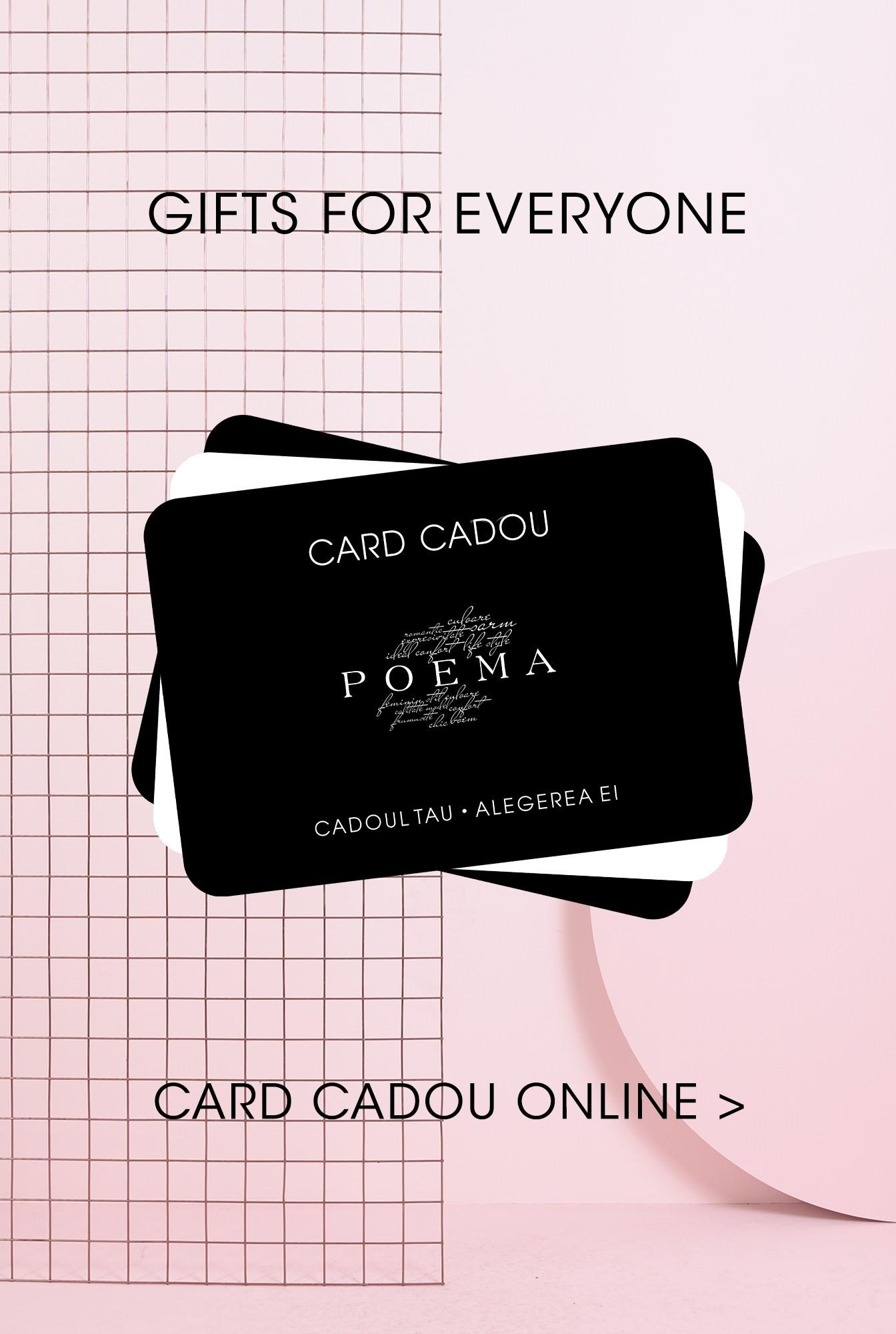Daruieste online un card cadou POEMA