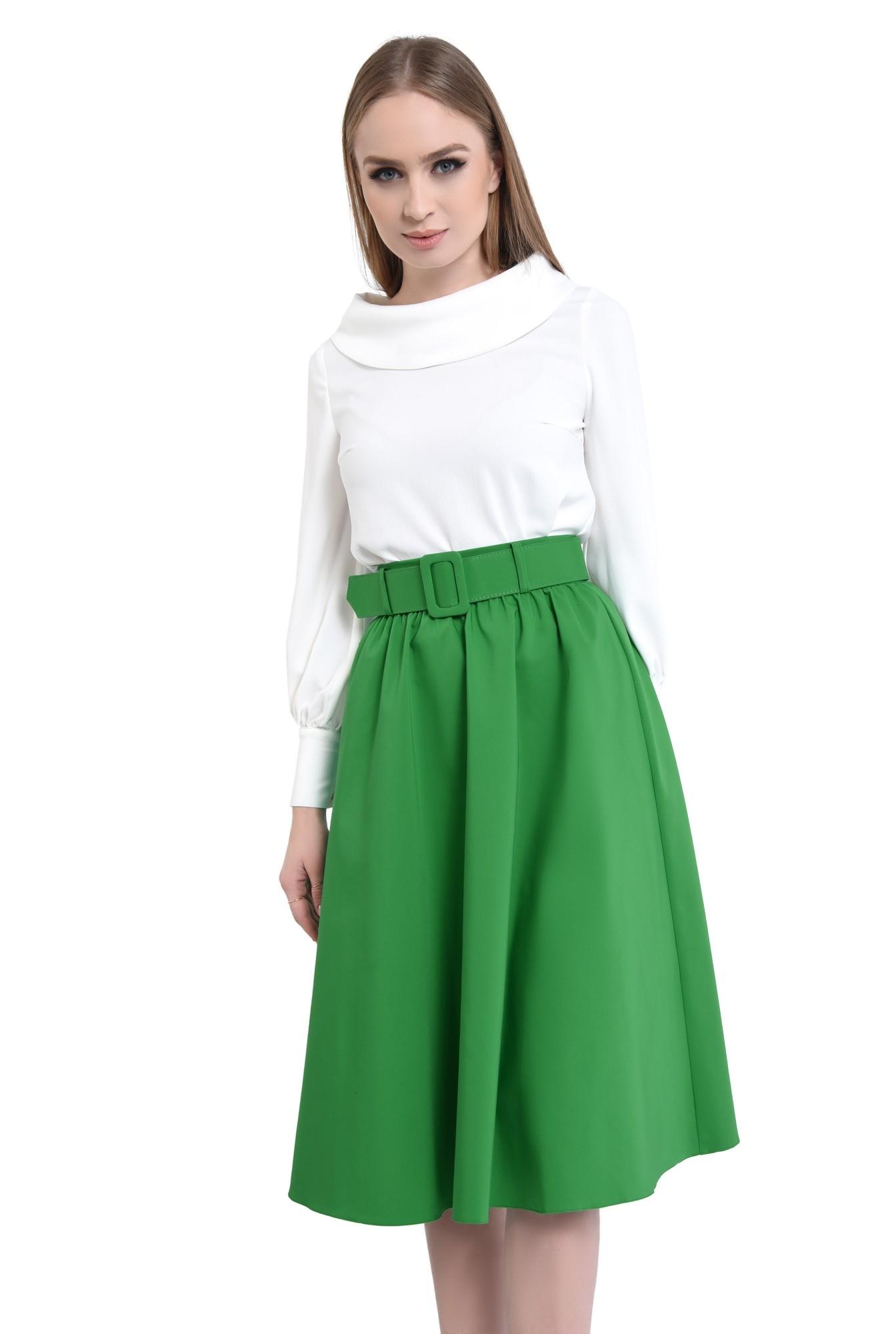 Fusta casual, verde