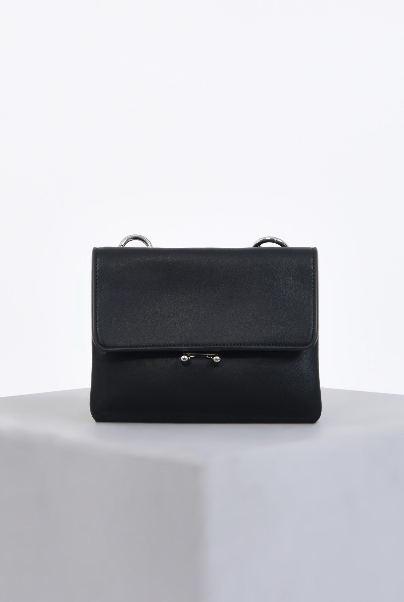 geanta casual, accesorii, negru