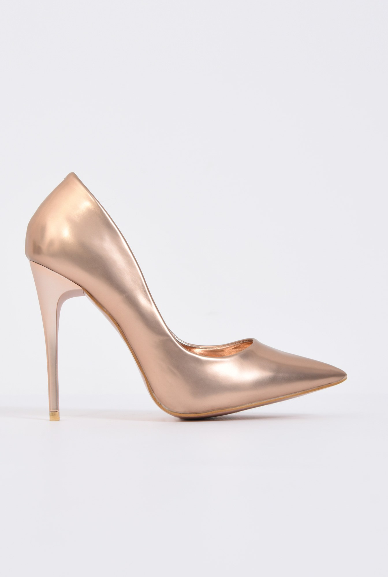 PANTOFI STILETTO PO10091701-GOLD/ROSE