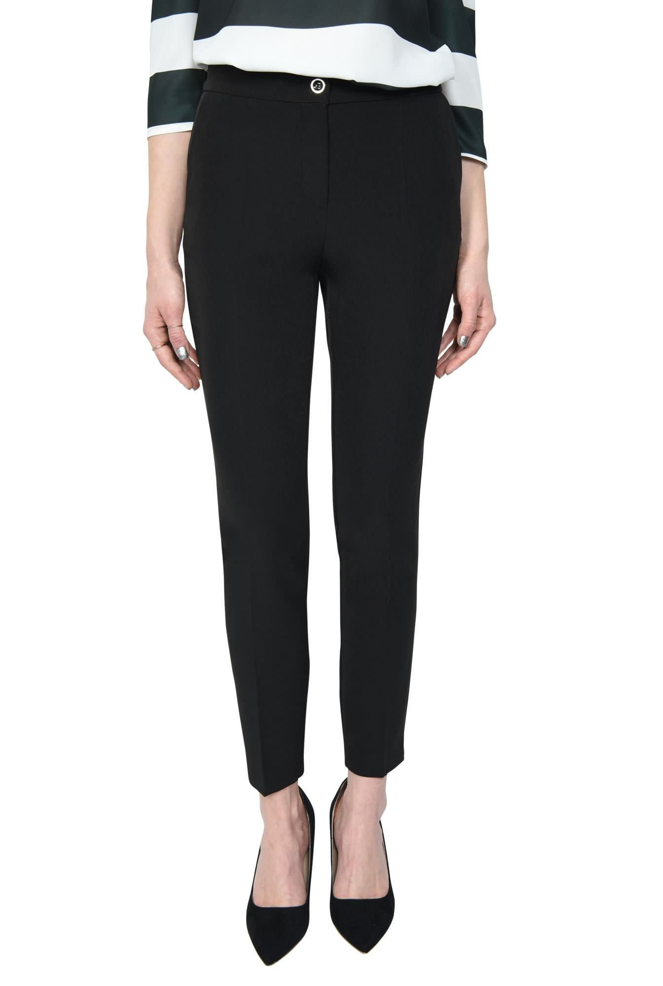 PANTALON OFFICE CONIC PT 133-NEGRU