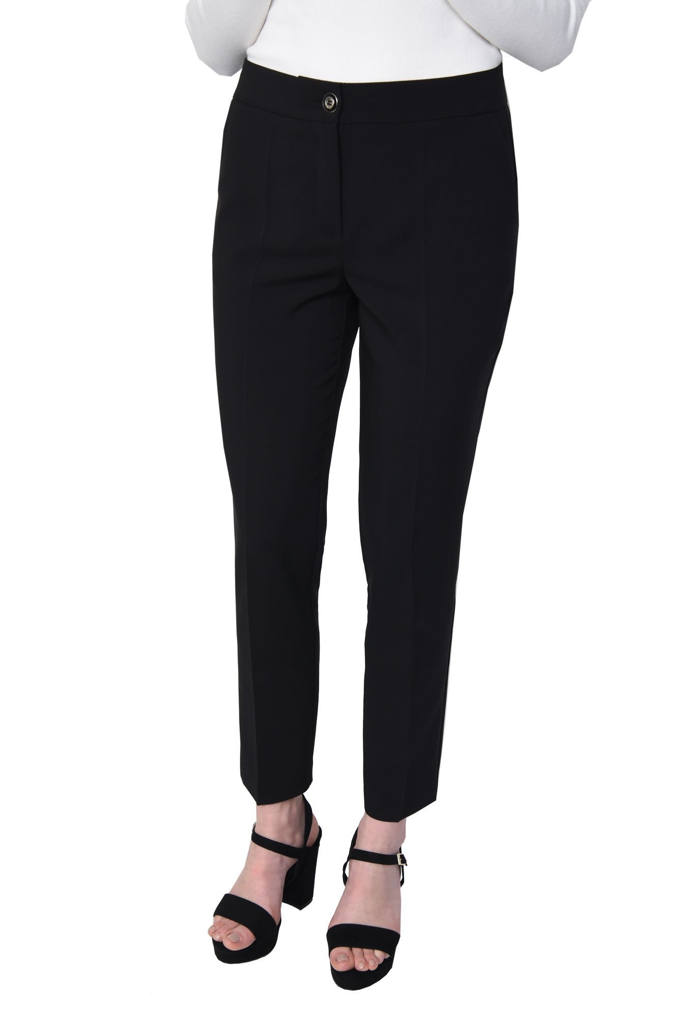 PANTALON OFFICE CONIC PT 138-NEGRU