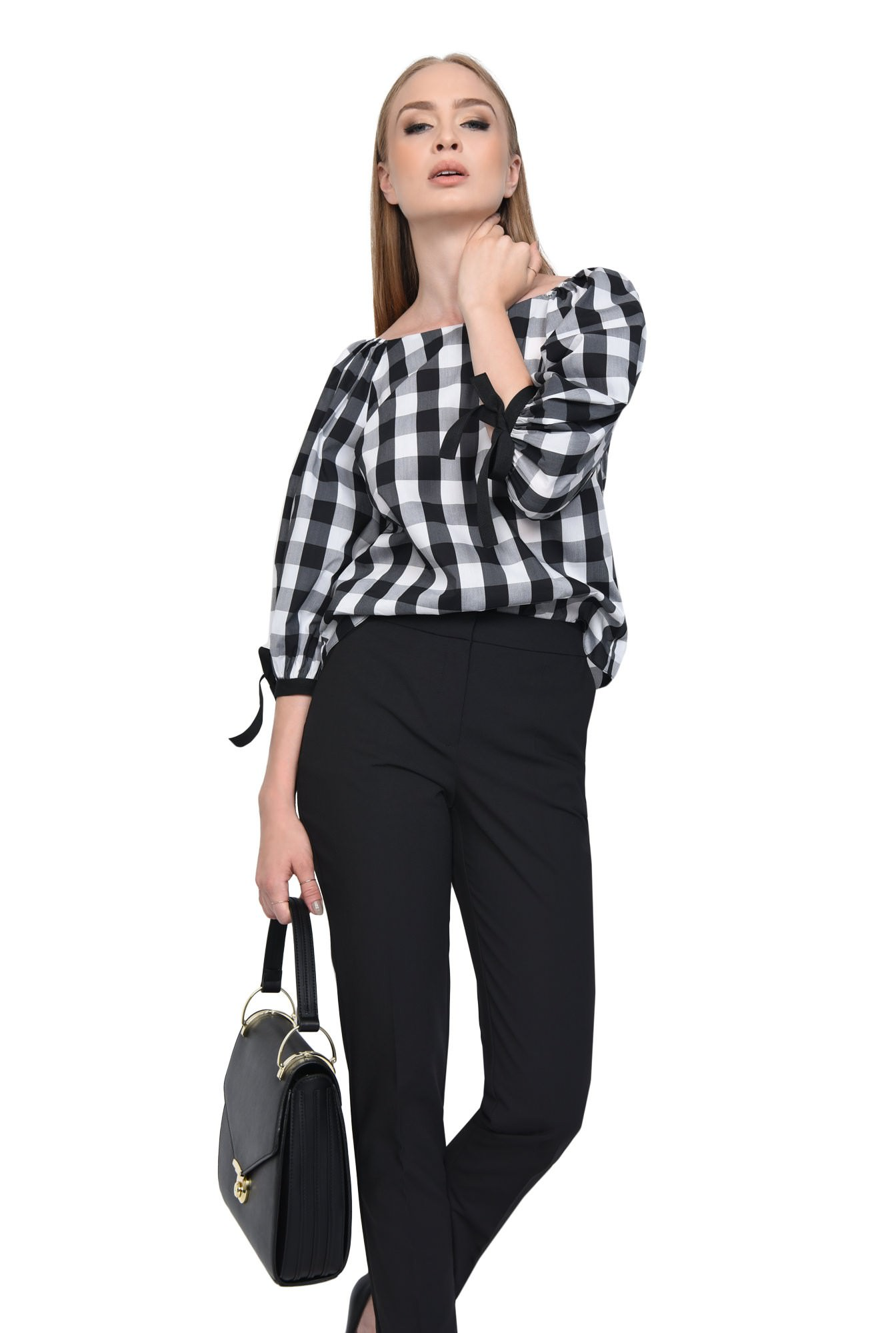 PANTALON OFFICE PT 160-NEGRU