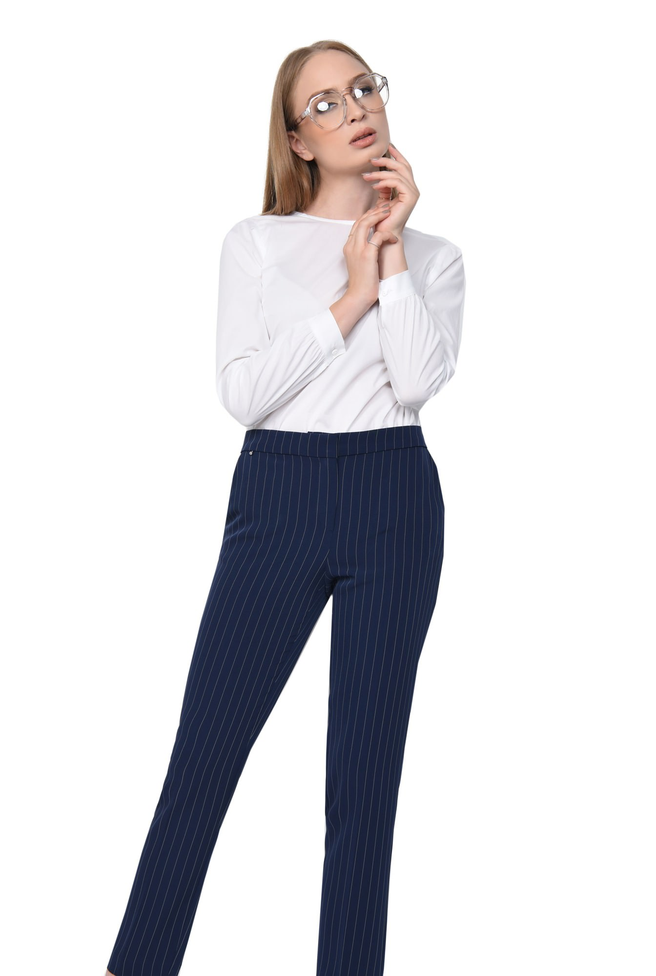 PANTALON OFFICE PT 164-BLEUMARIN