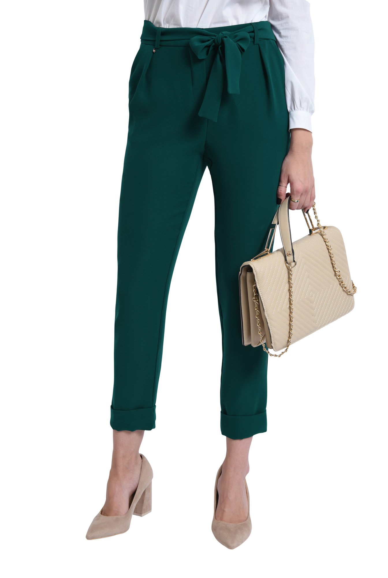 PANTALON OFFICE PT 172-VERDE