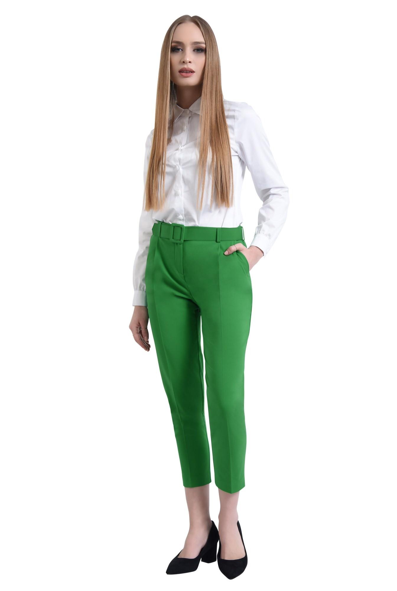 360 - Pantaloni casual, pense, centura