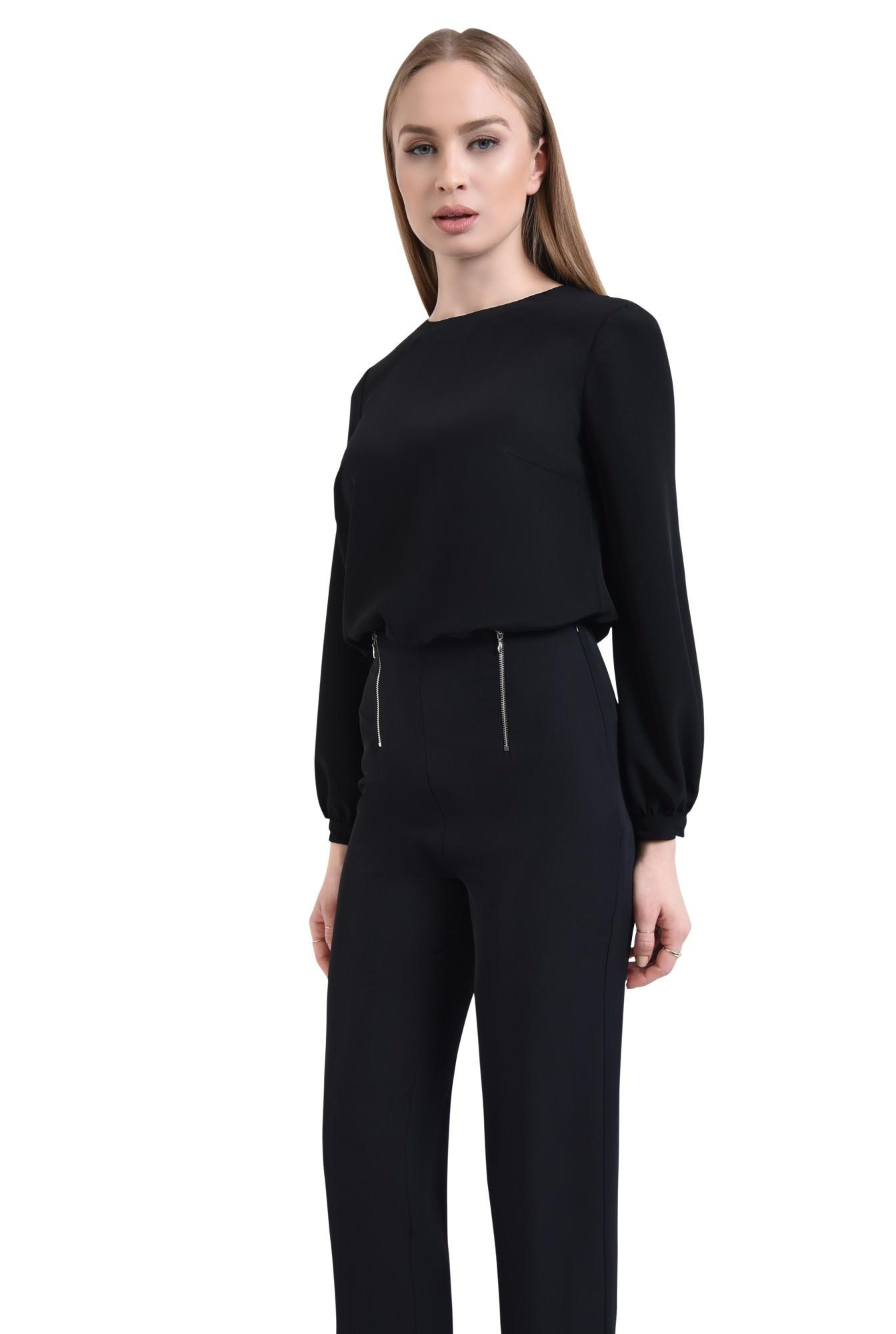 Pantaloni casual, negru