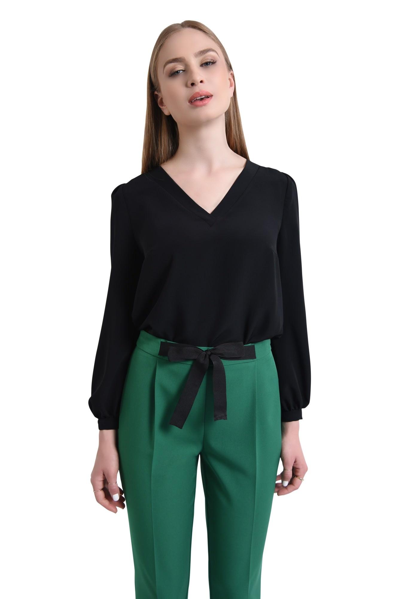 Pantaloni casual, verde
