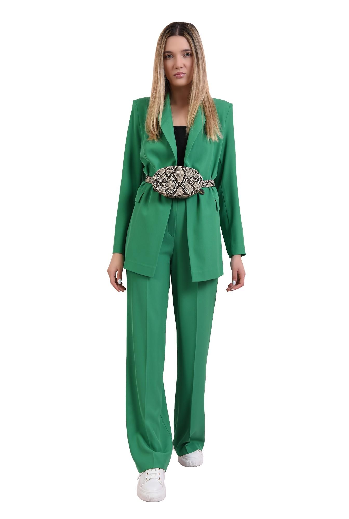 pantaloni verzi, drepti, Poema