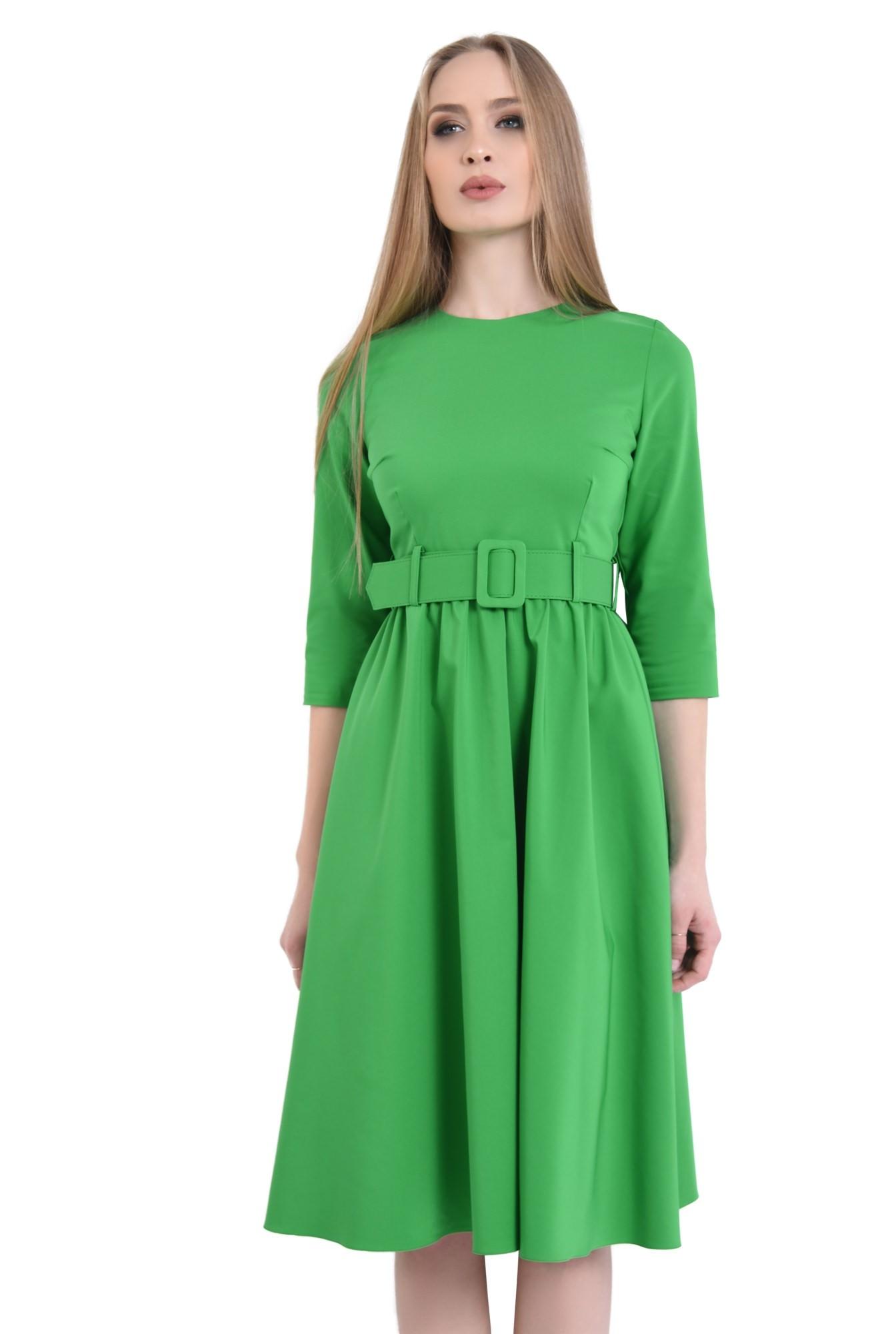 Rochie casual, verde