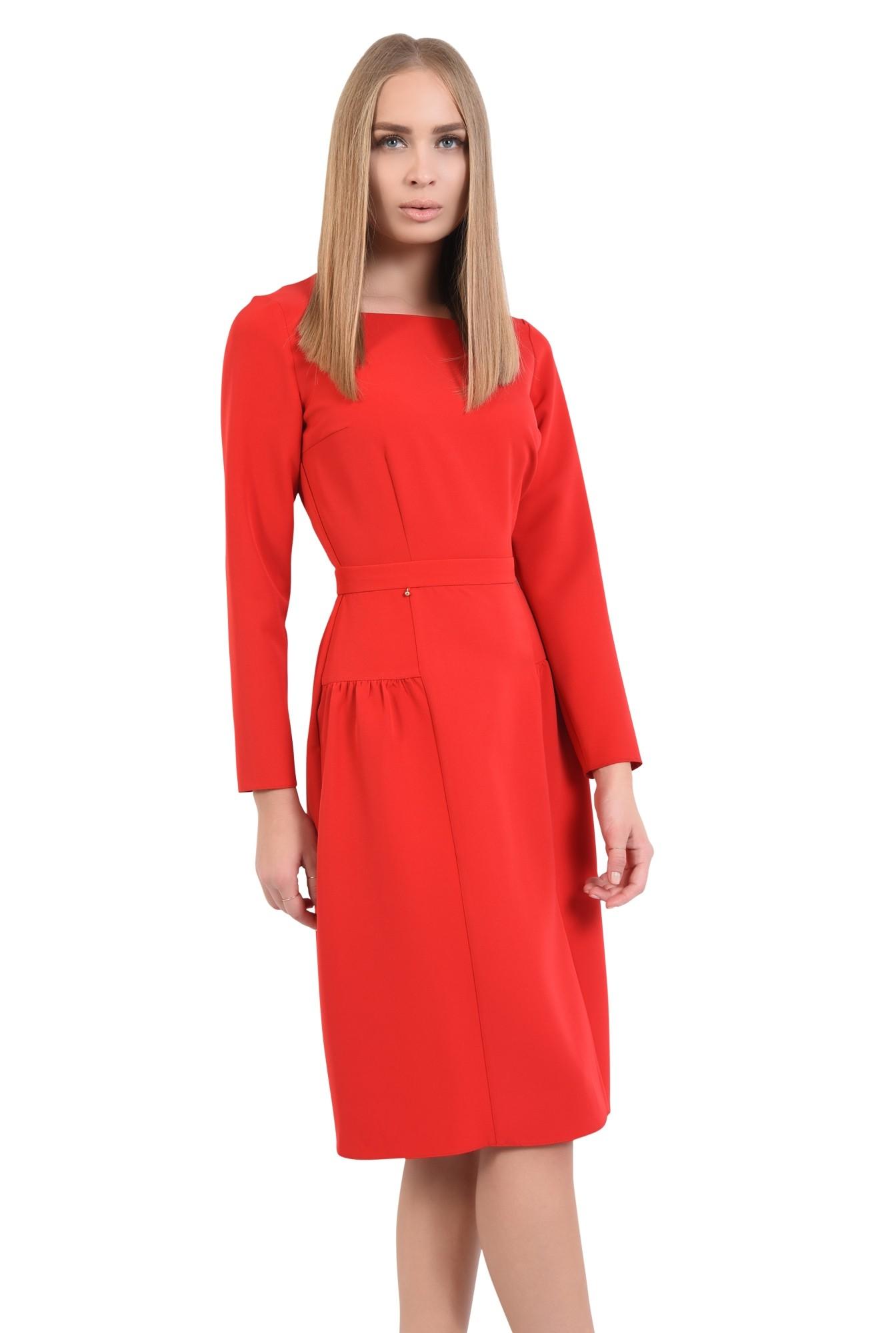 rochii de dama online, betelie, croi evazat, inchidere cu fermoar