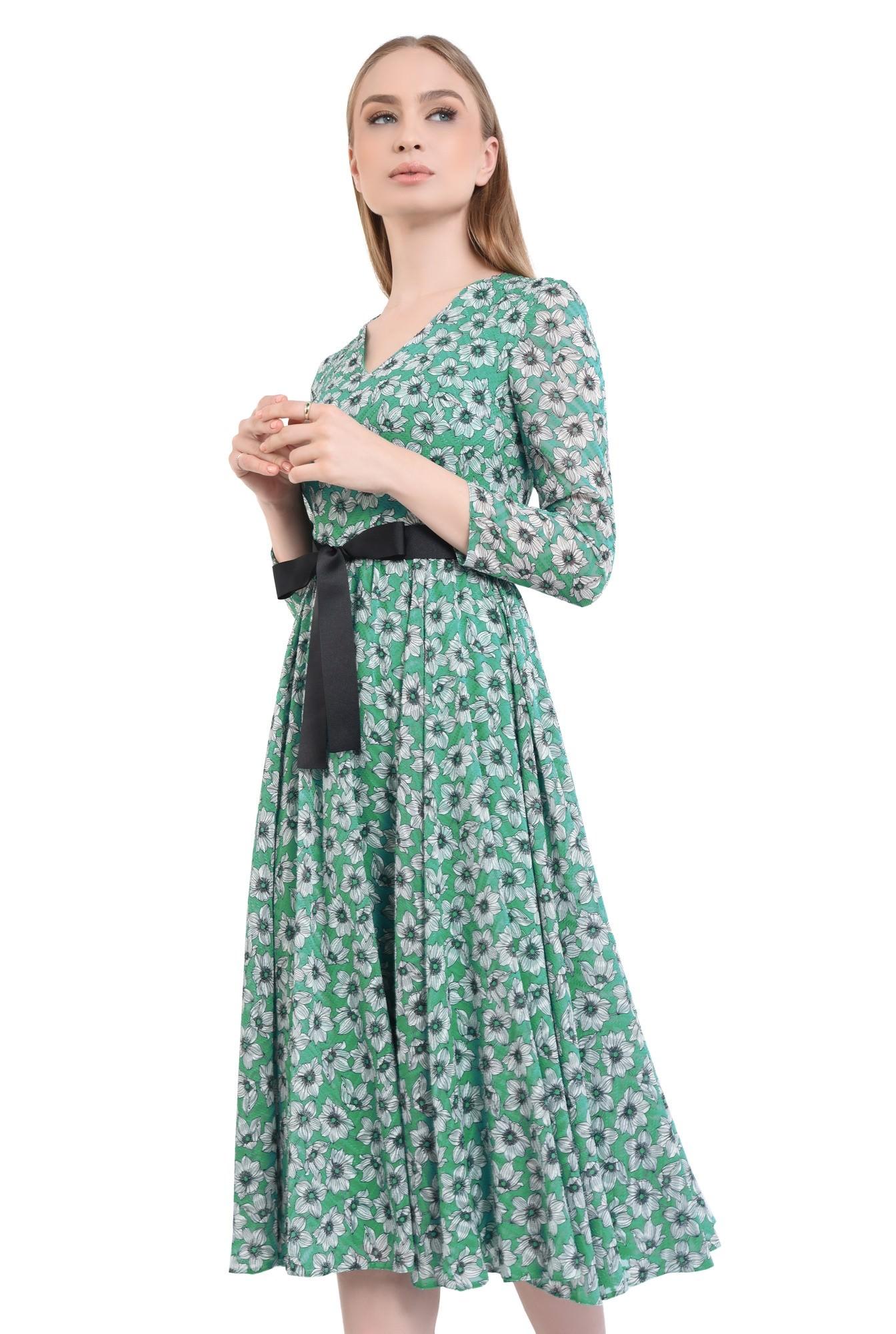 Rochie eleganta, imprimeu